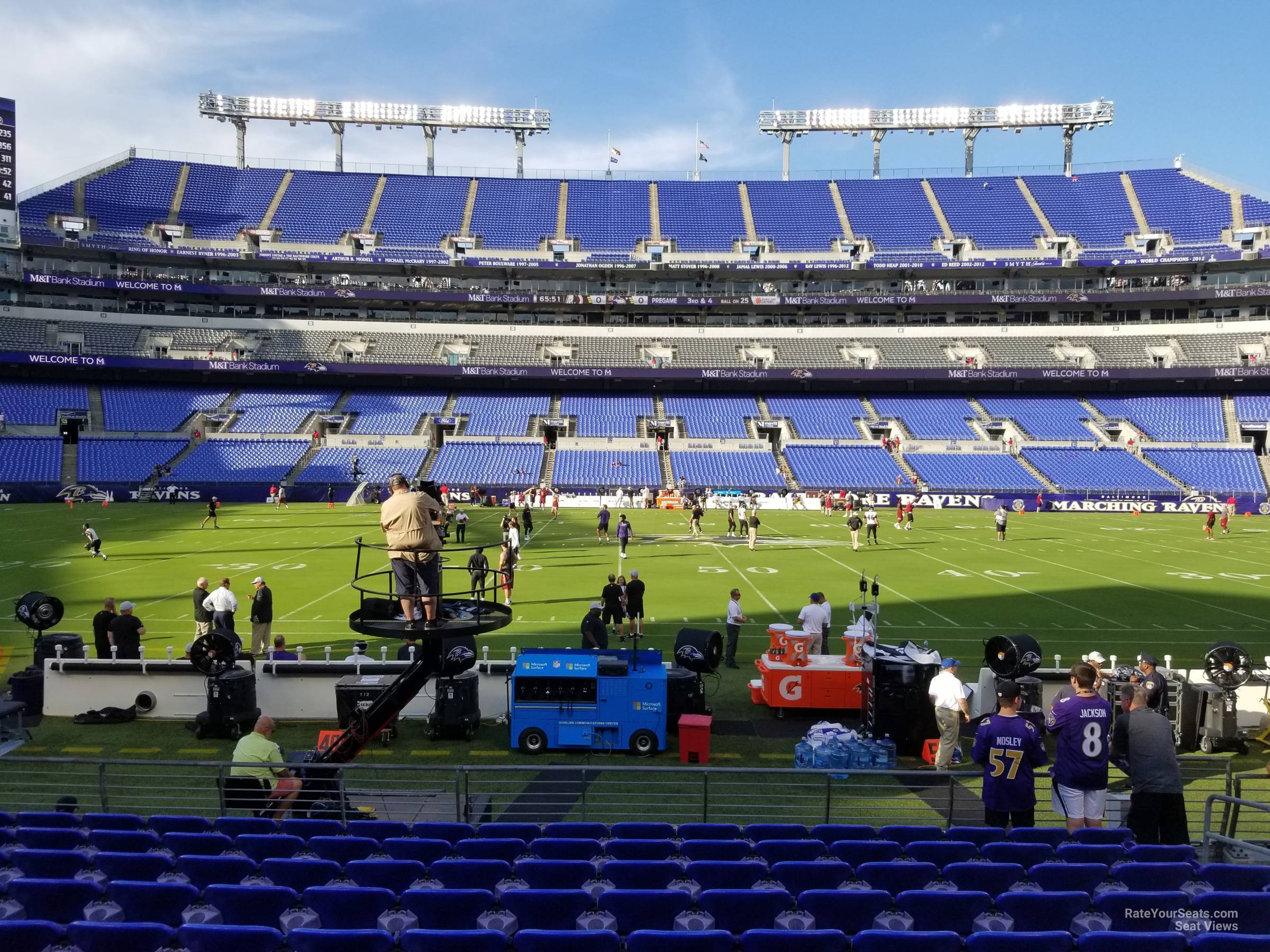 Section 127 At M T Bank Stadium Baltimore Ravens Rateyourseats Com