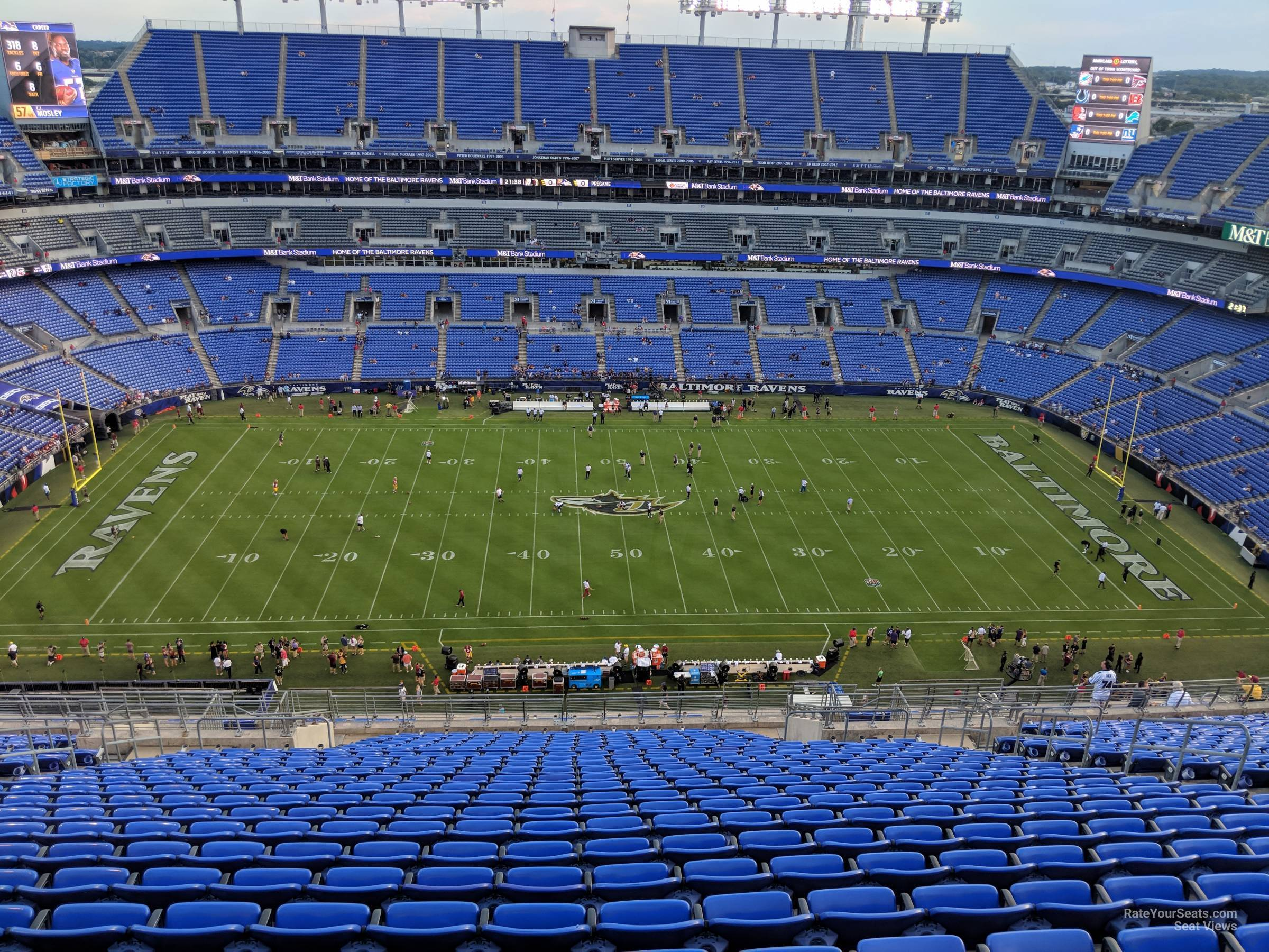Section 500 At M T Bank Stadium Baltimore Ravens Rateyourseats Com
