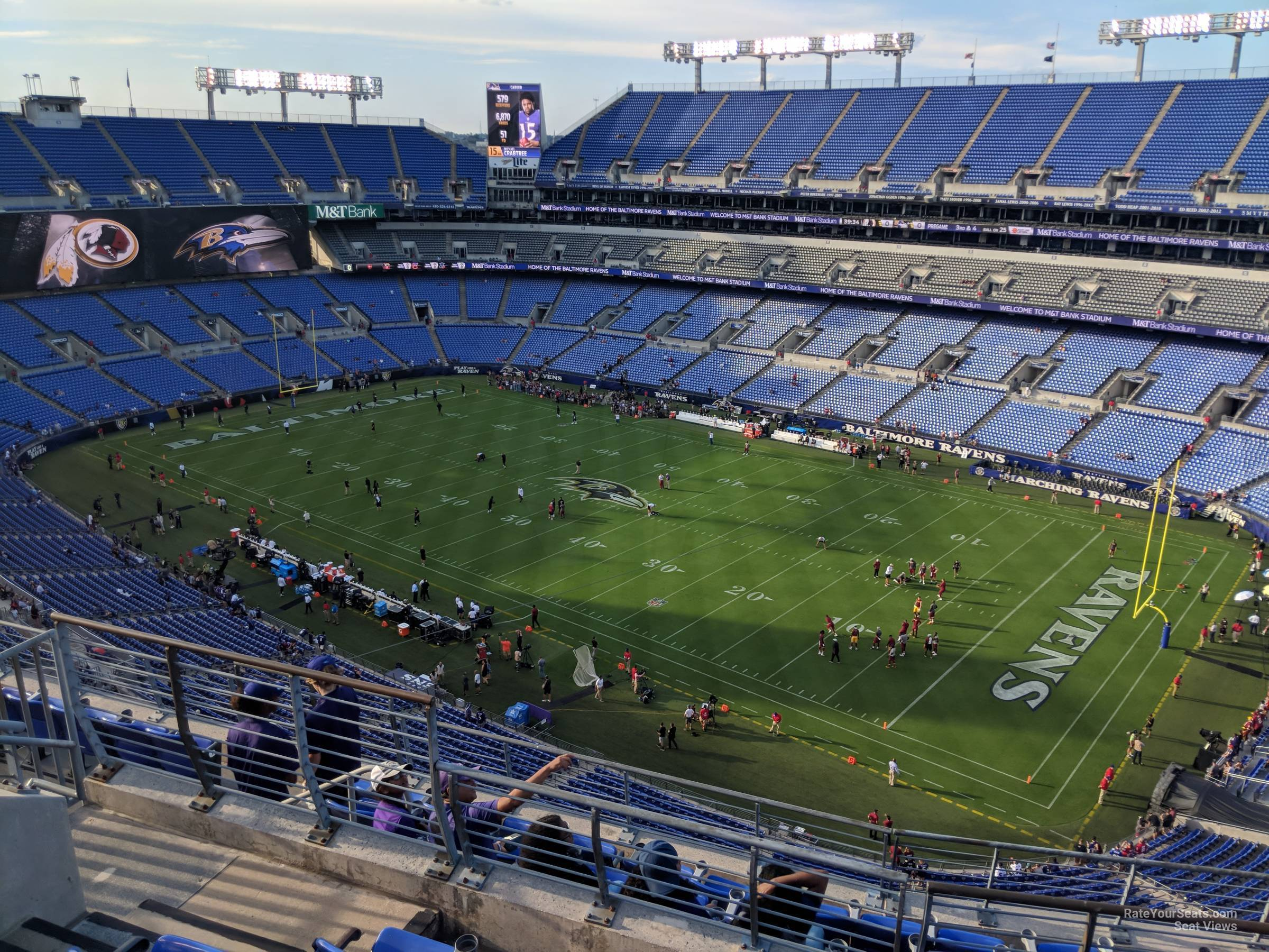 Section 521 At M T Bank Stadium Baltimore Ravens Rateyourseats Com