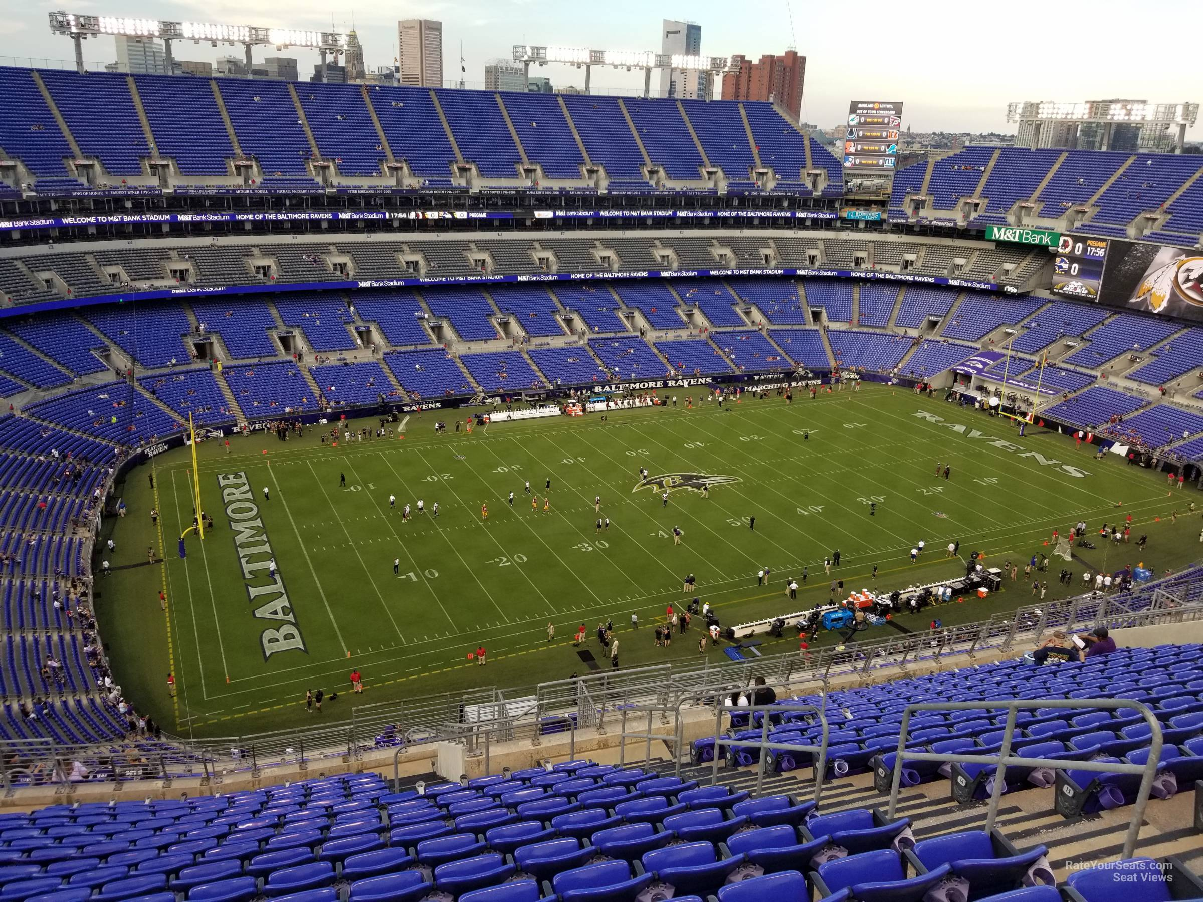Section 531 At M T Bank Stadium Baltimore Ravens Rateyourseats Com