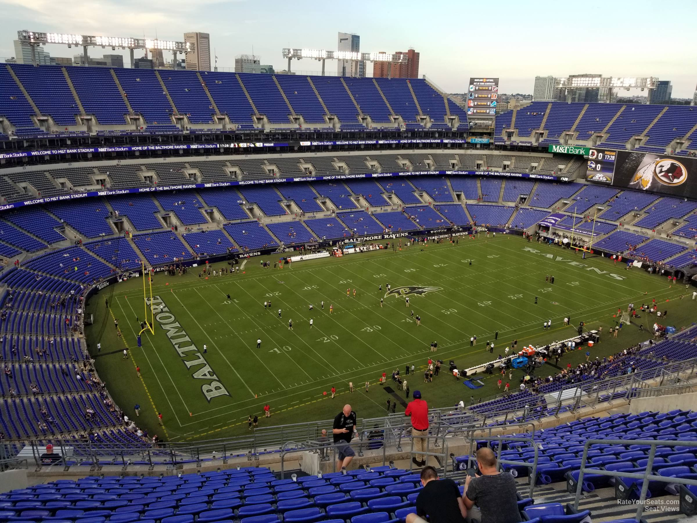 Section 532 At M T Bank Stadium Baltimore Ravens Rateyourseats Com