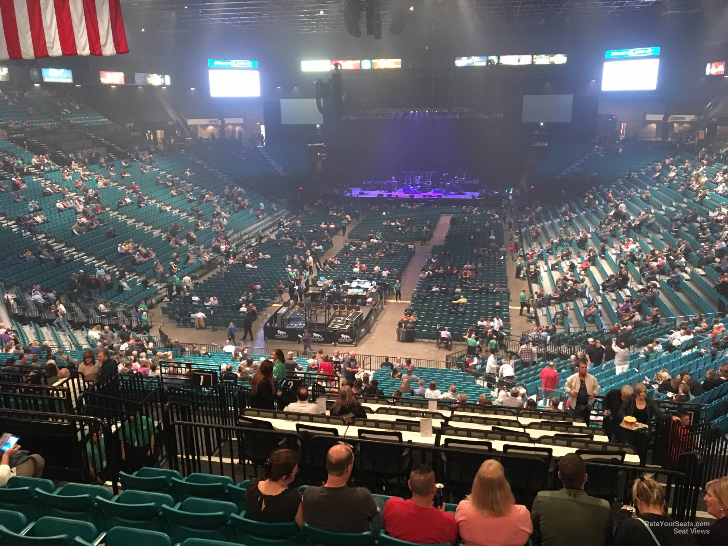 Section 202 At Mgm Grand Garden Arena Rateyourseats Com