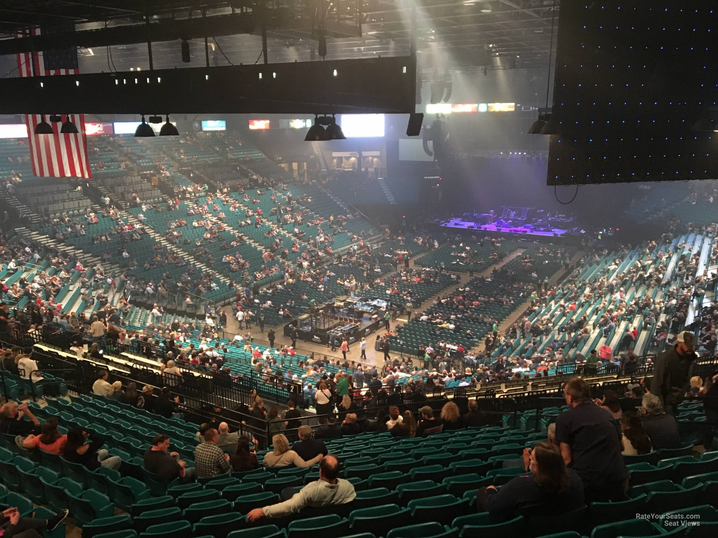 Section 204 At Mgm Grand Garden Arena Rateyourseats Com