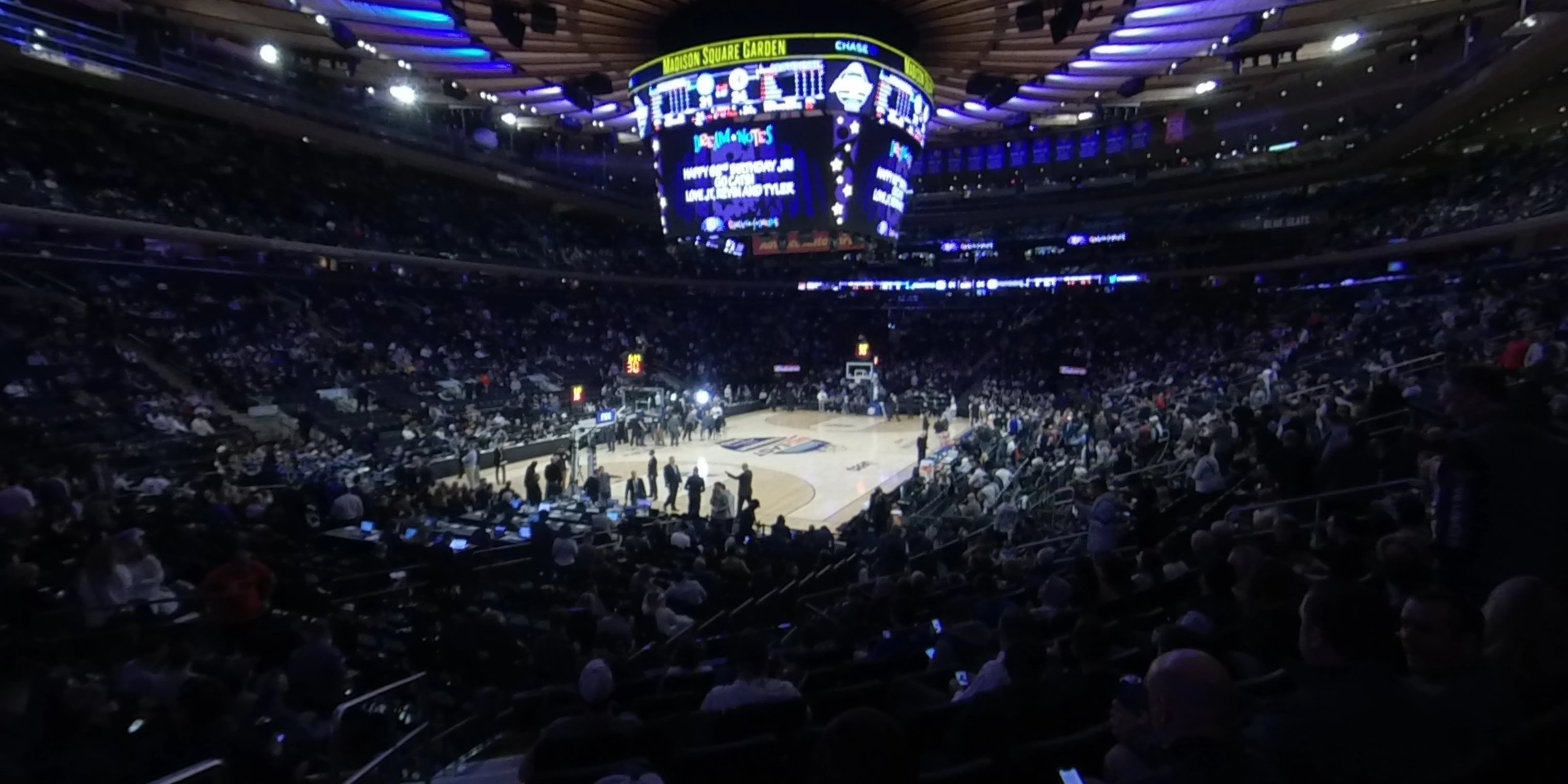 360° Photo From Madison Square Garden Section 104