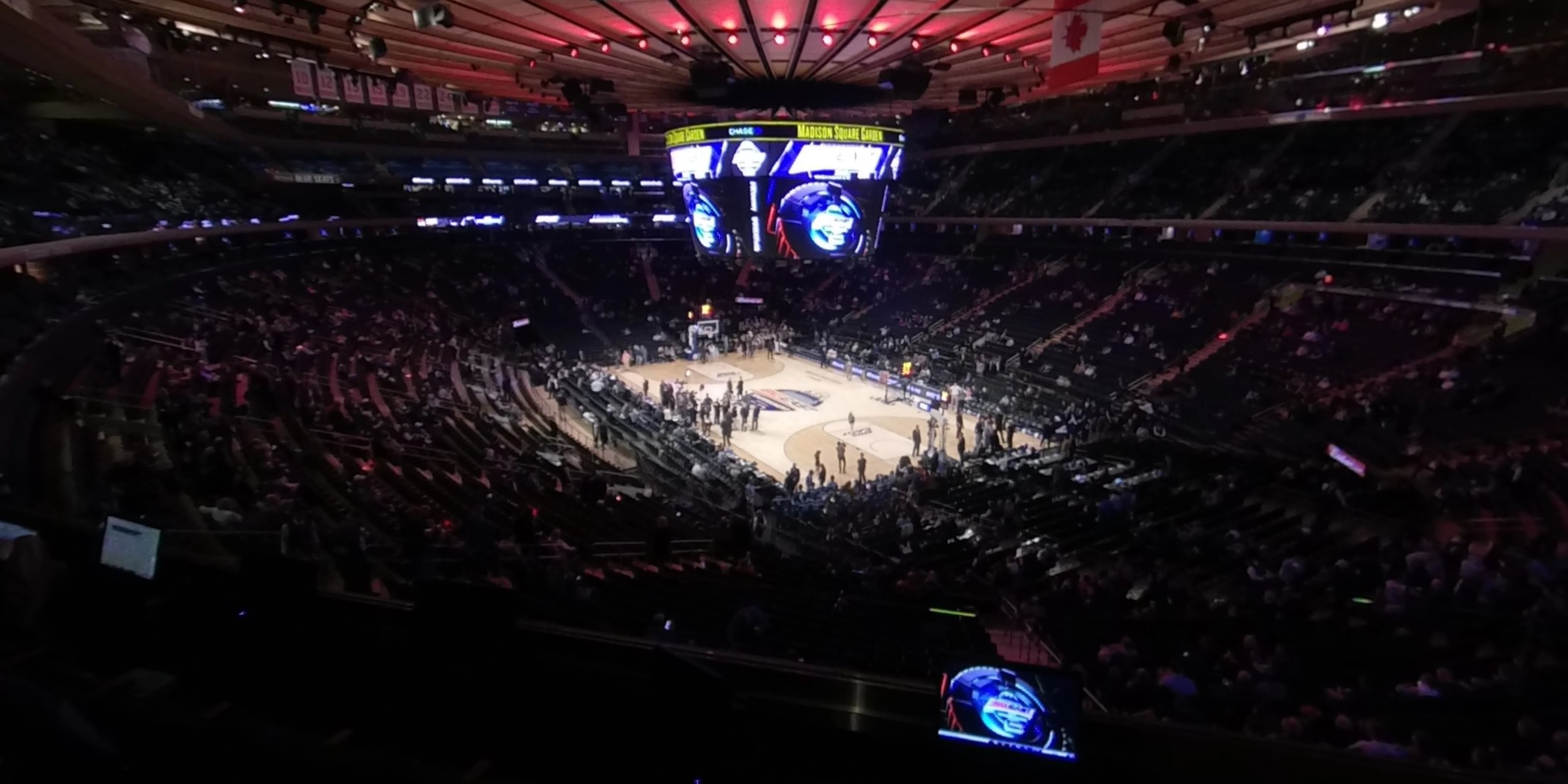 360° Photo From Madison Square Garden Section 201