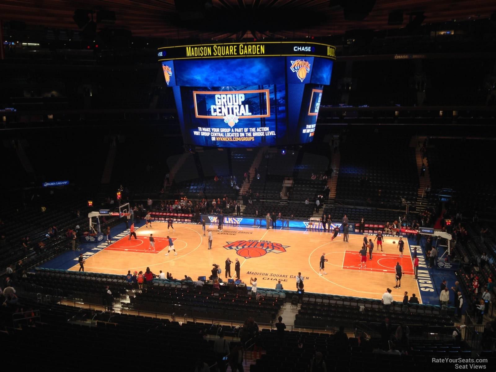 New York Knicks Madison Square Garden Seating Chart