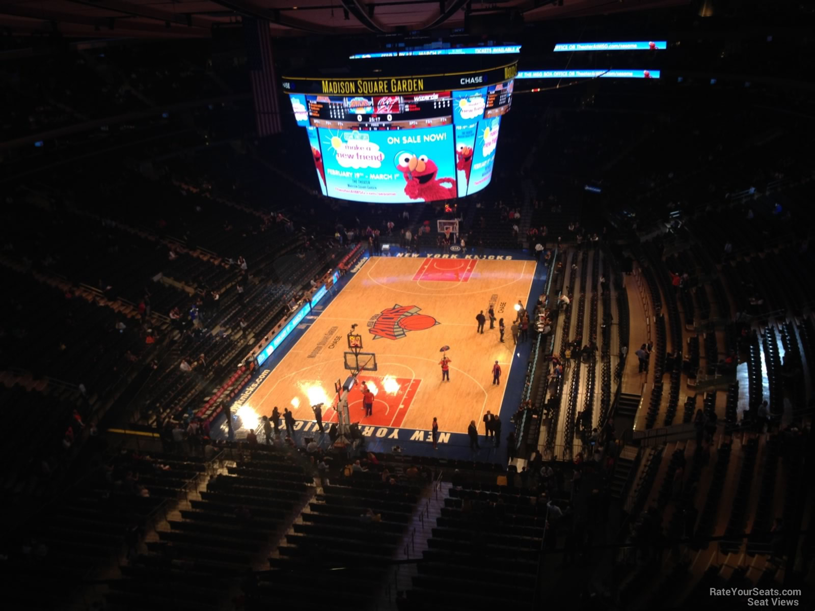 Strange Madison Square Garden Section 321 New York Knicks Spiritservingveterans Wood Chair Design Ideas Spiritservingveteransorg