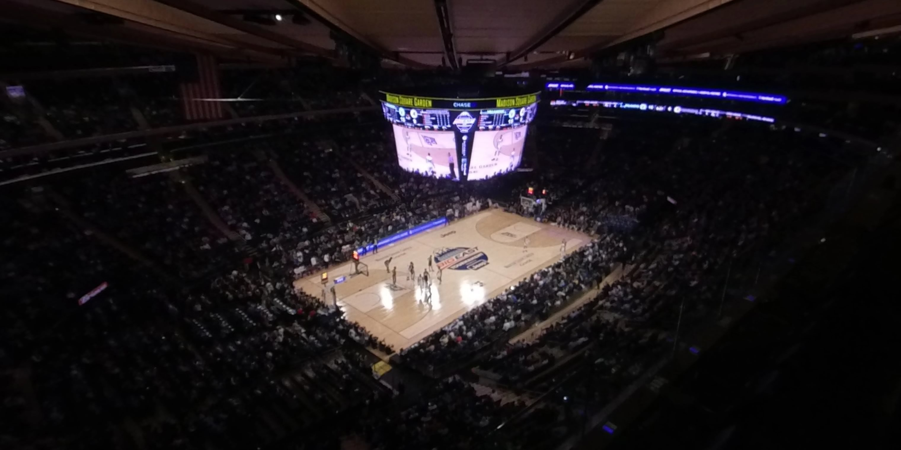 360° Photo From Madison Square Garden Section 324