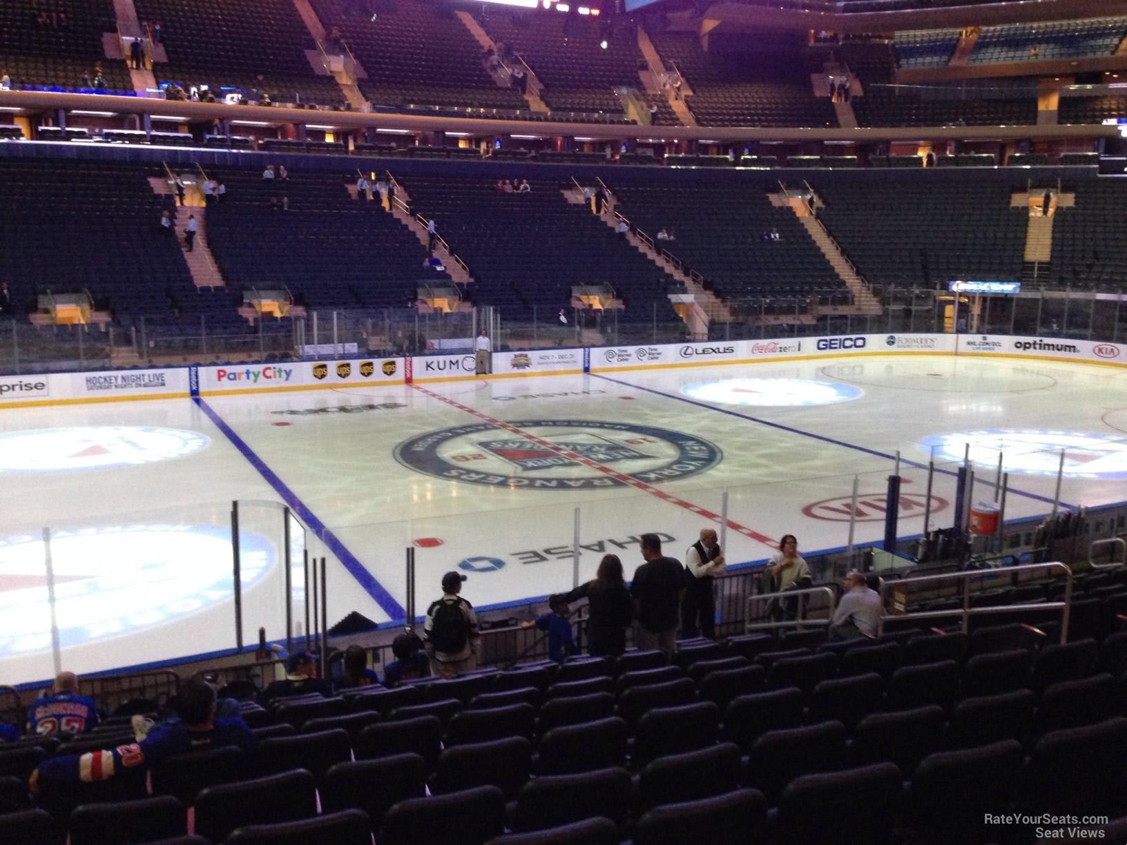 Madison Square Garden: Madison Square Garden Section 106