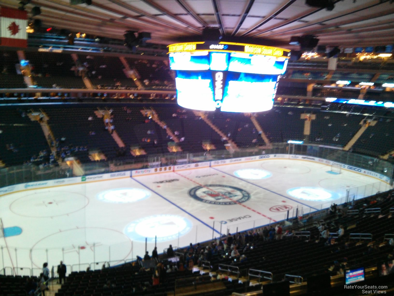 Madison Square Garden Section 209 - New York Rangers ...