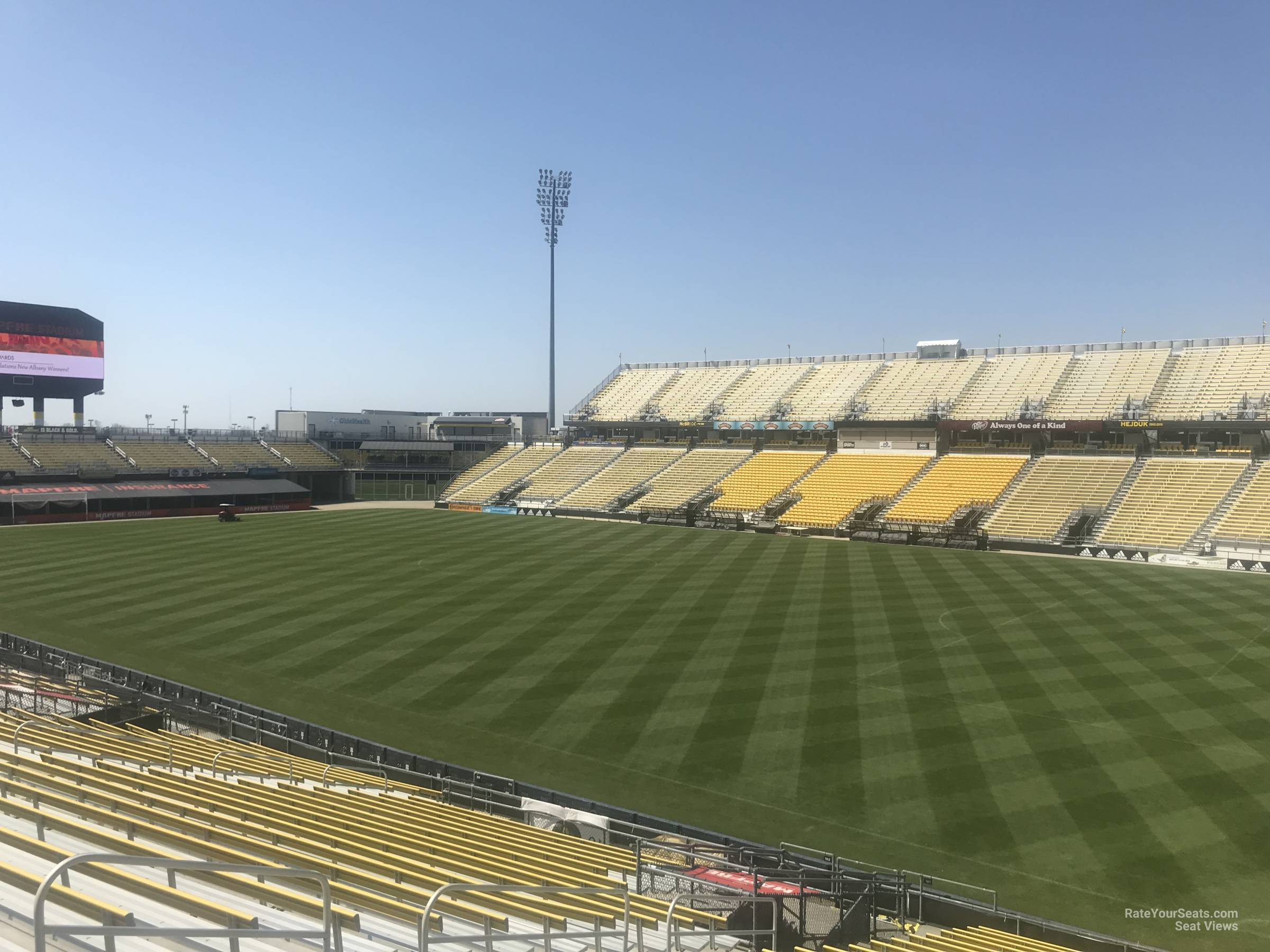 Seat View for Mapfre Stadium Section 101, Row 24