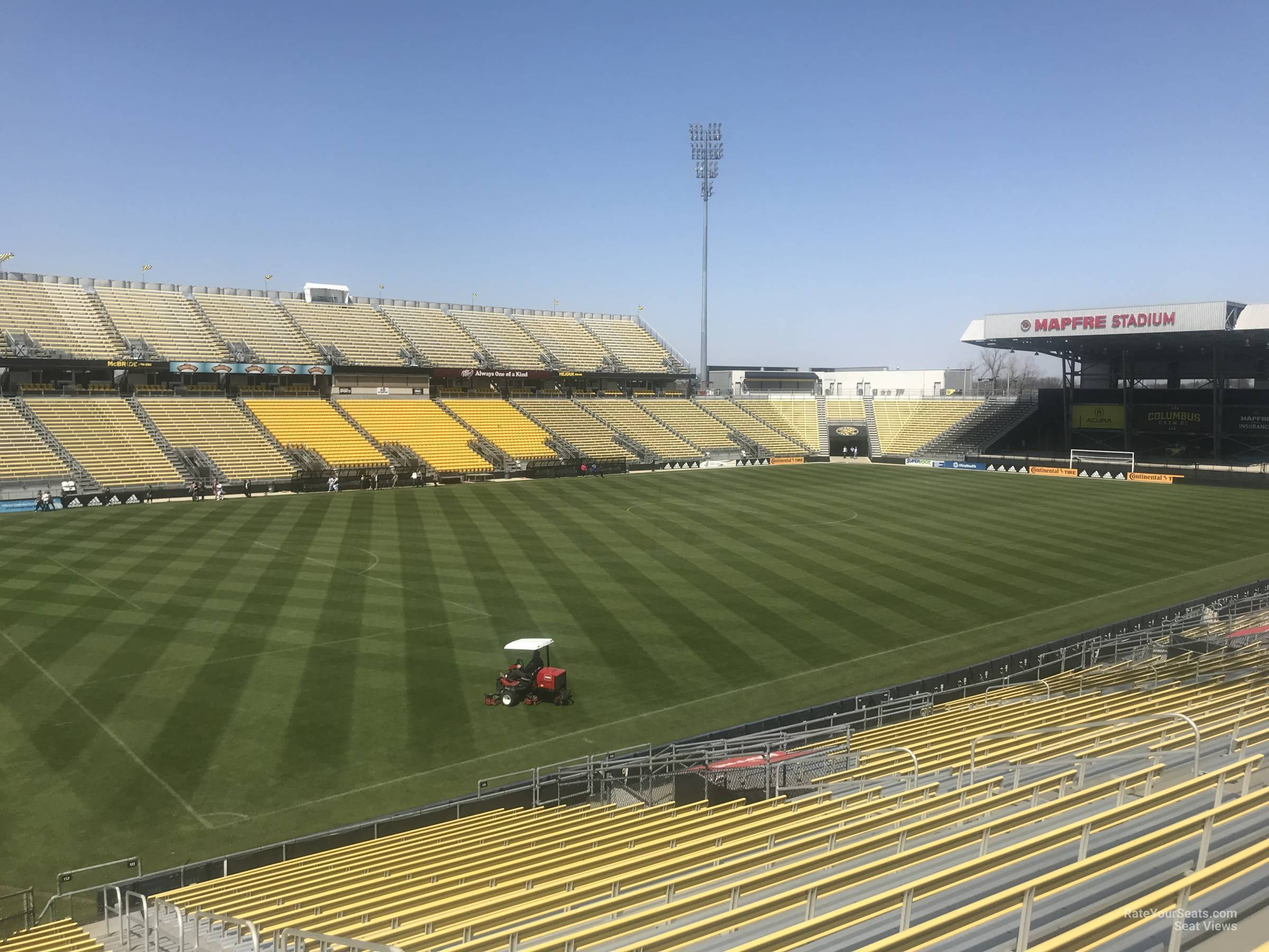 Seat View for Mapfre Stadium Section 112, Row 24