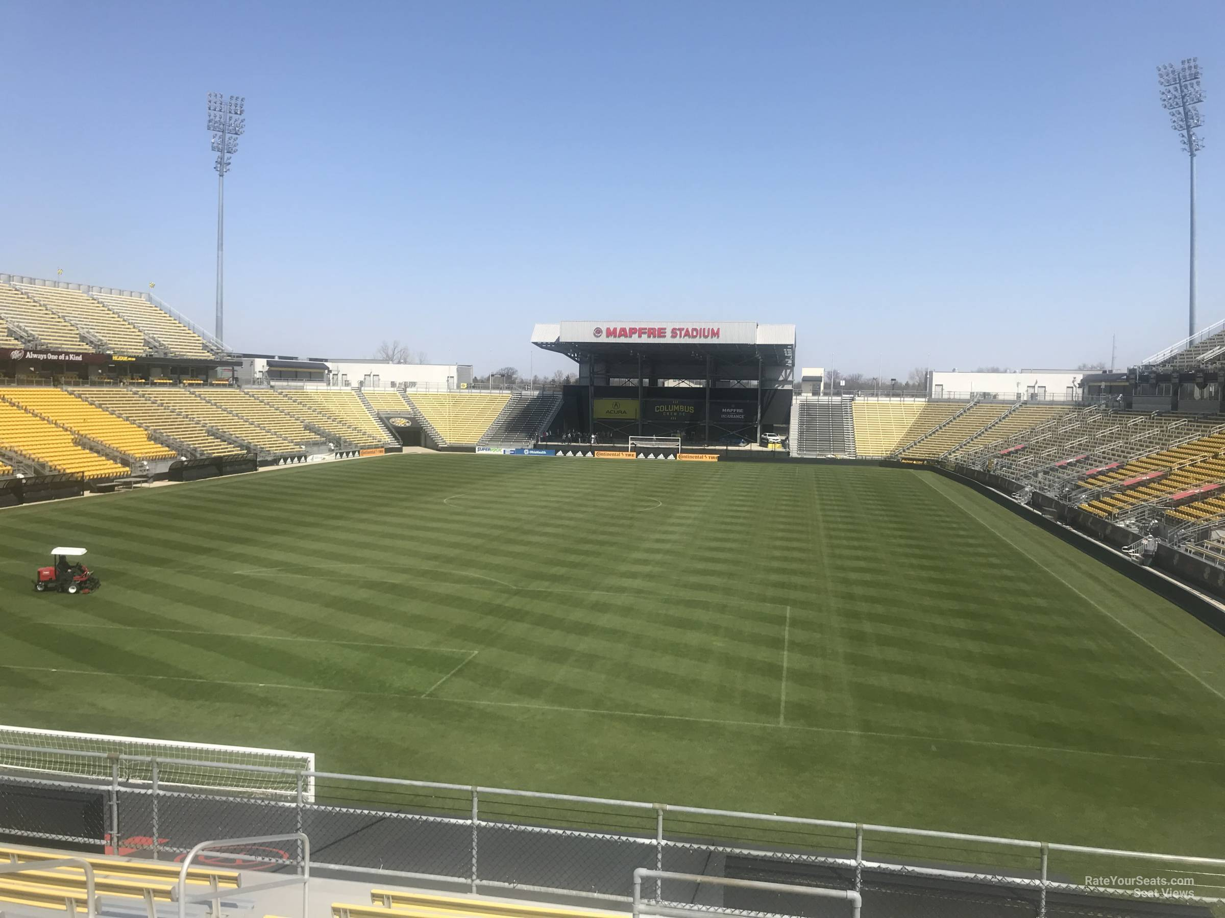 Seat View for MAPFRE Stadium Section 114, Row 24