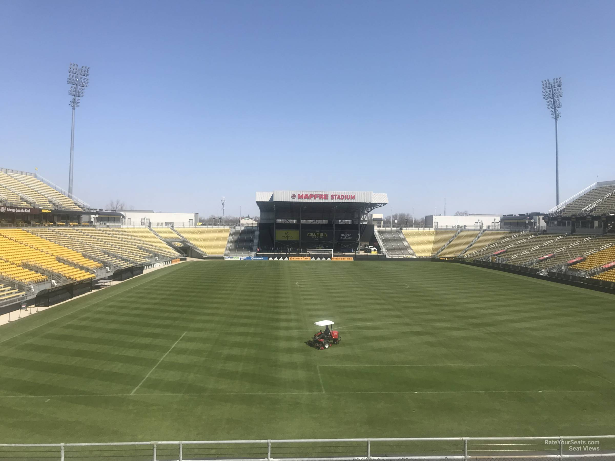 Seat View for MAPFRE Stadium Section 117, Row 24