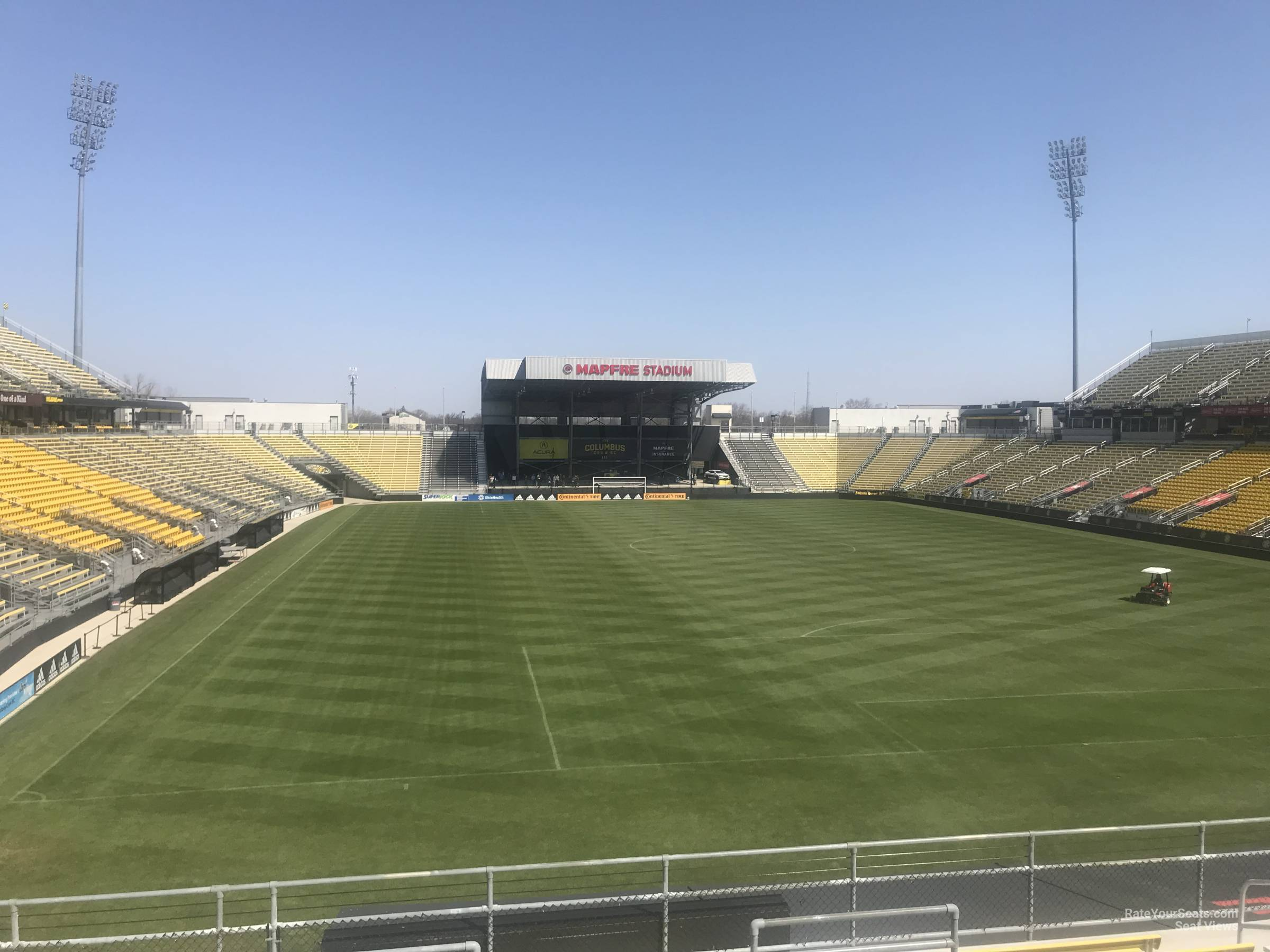 Seat View for Mapfre Stadium Section 118, Row 24