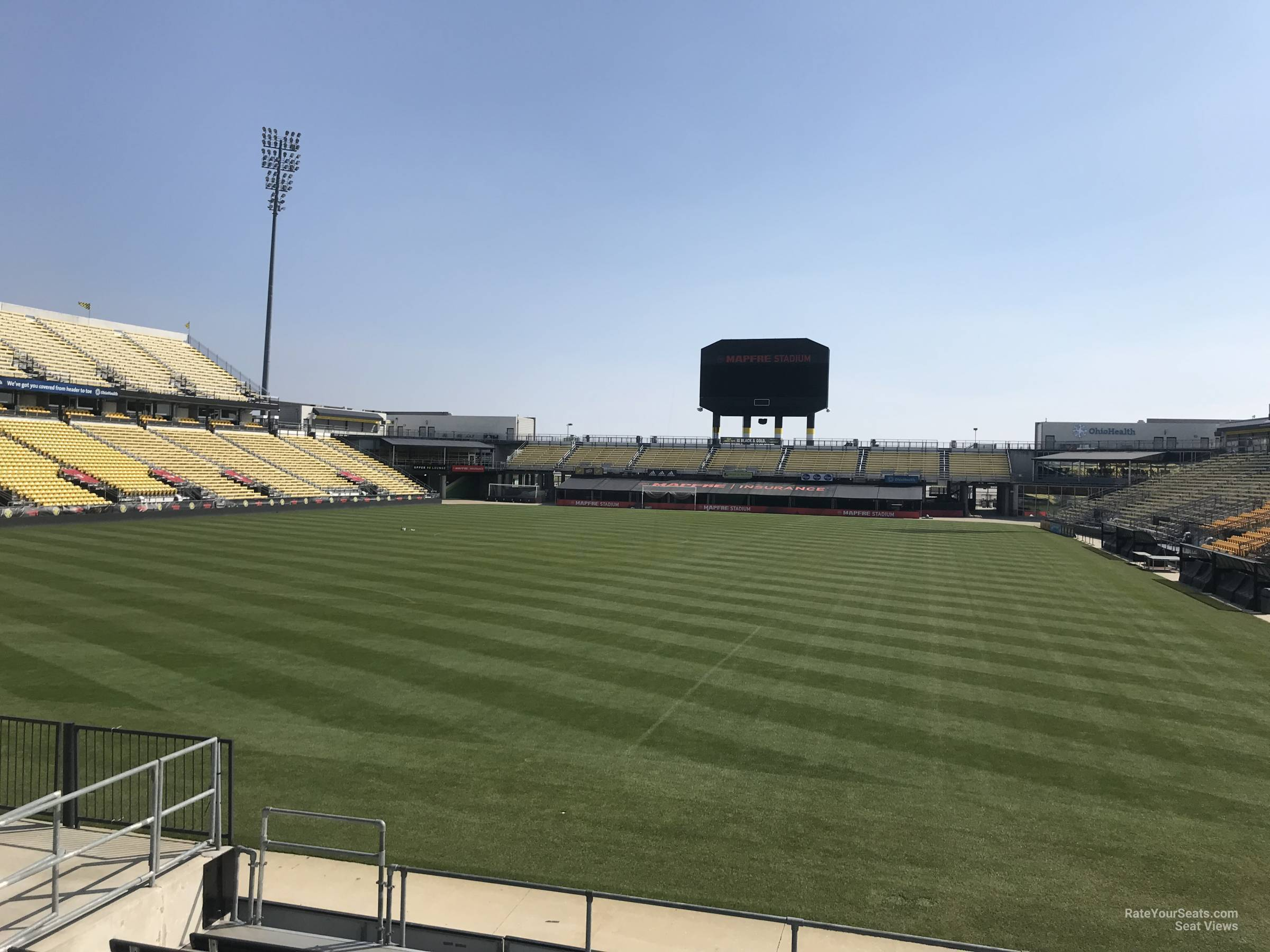 Seat View for Mapfre Stadium Section 135, Row 11