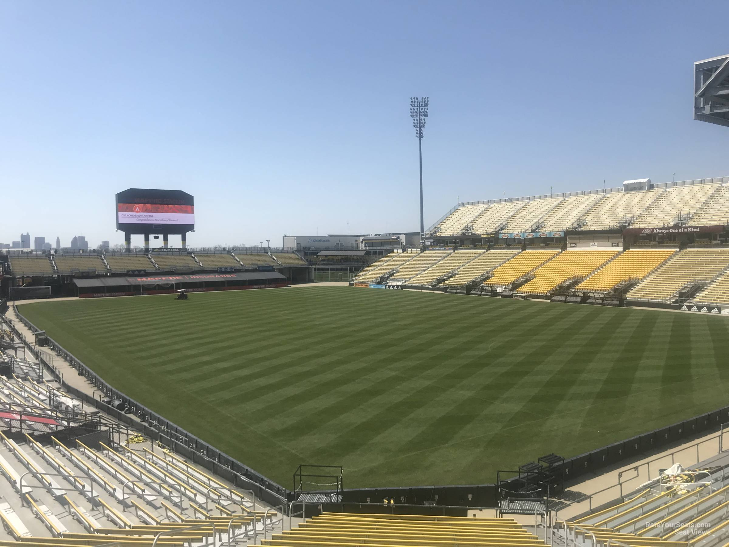 Seat View for MAPFRE Stadium Section 141, Row 24