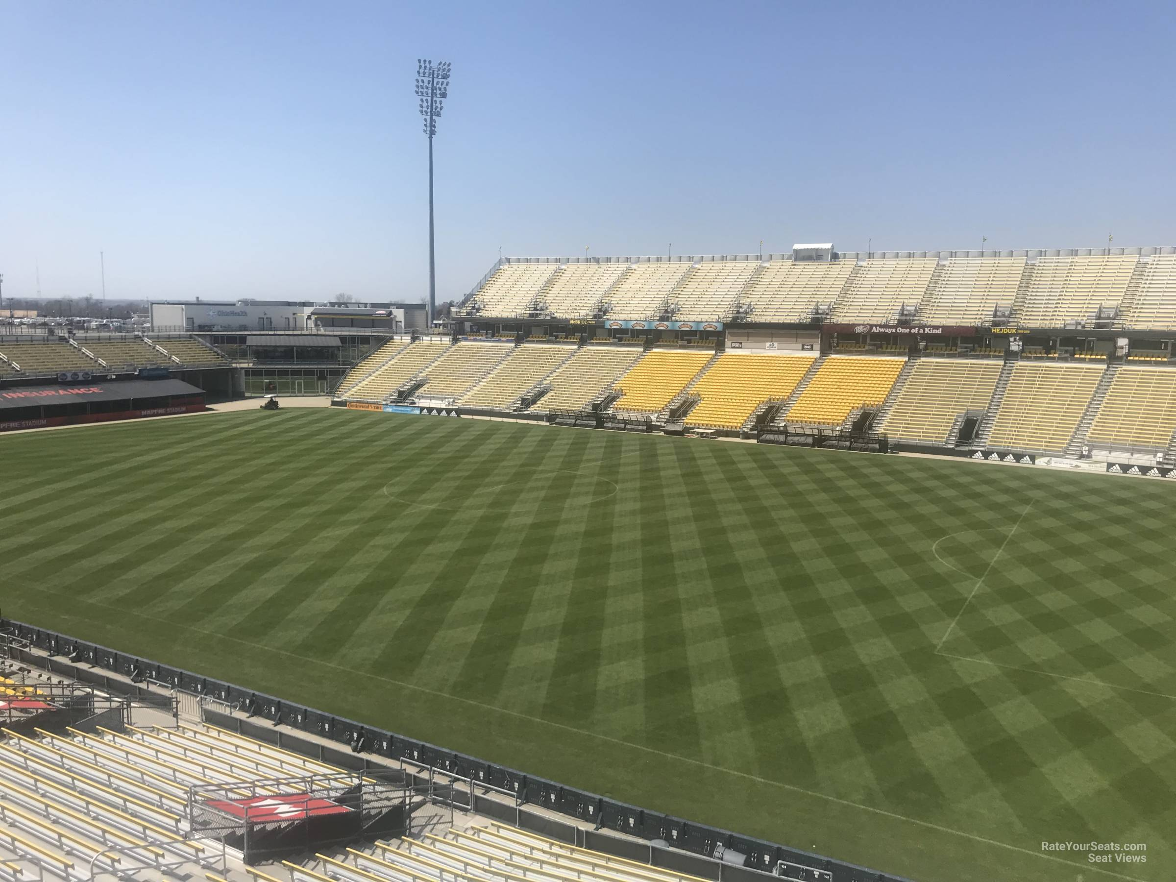 Seat View for MAPFRE Stadium Section 202, Row 2