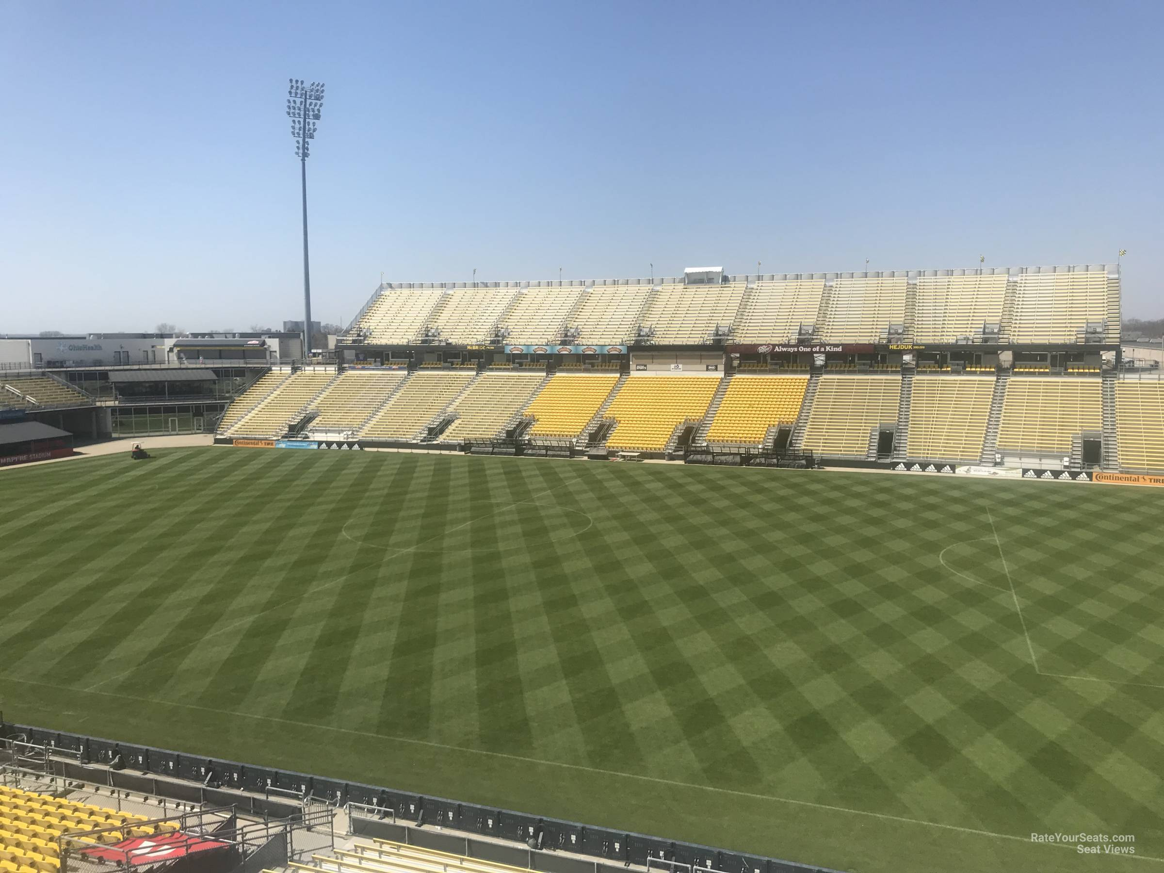 Seat View for Mapfre Stadium Section 203, Row 2