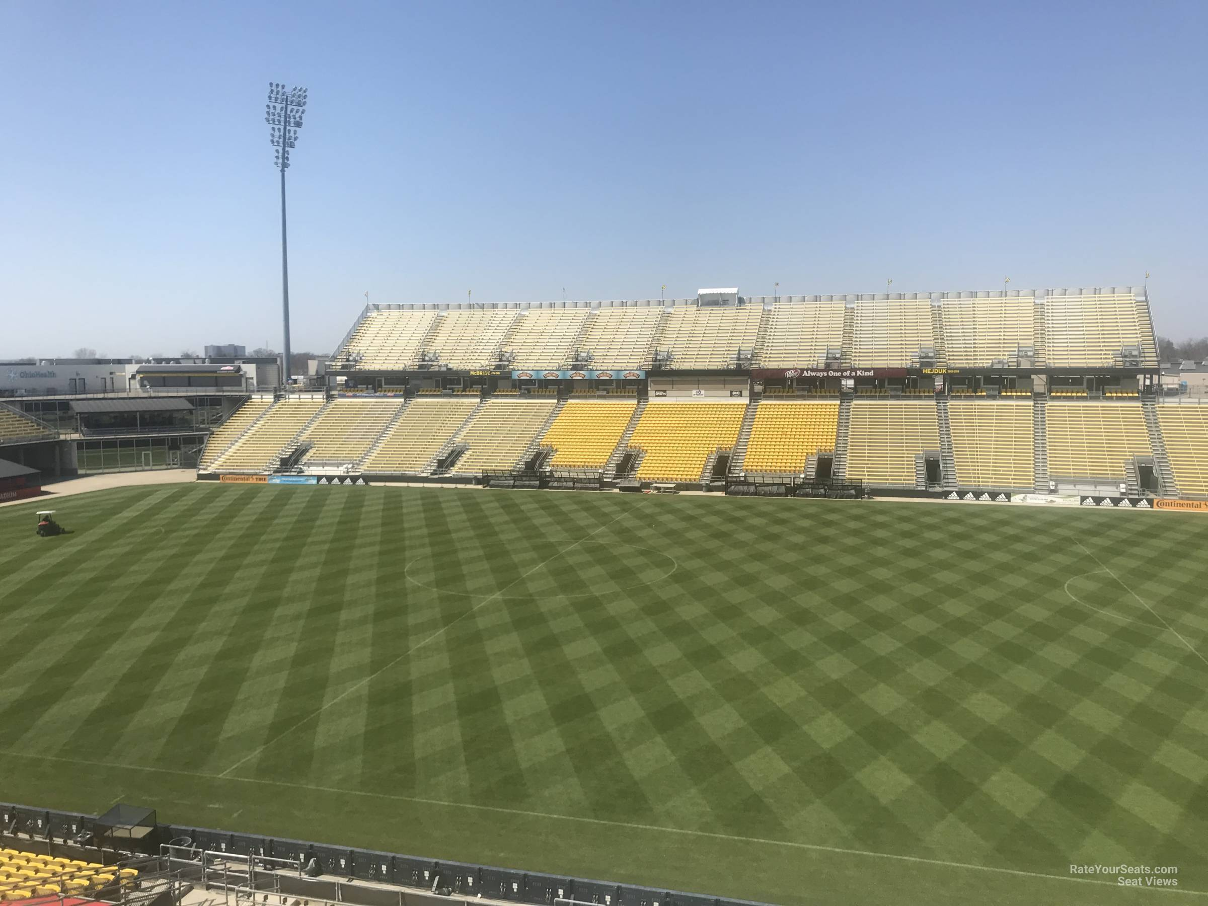 Seat View for MAPFRE Stadium Section 204, Row 2