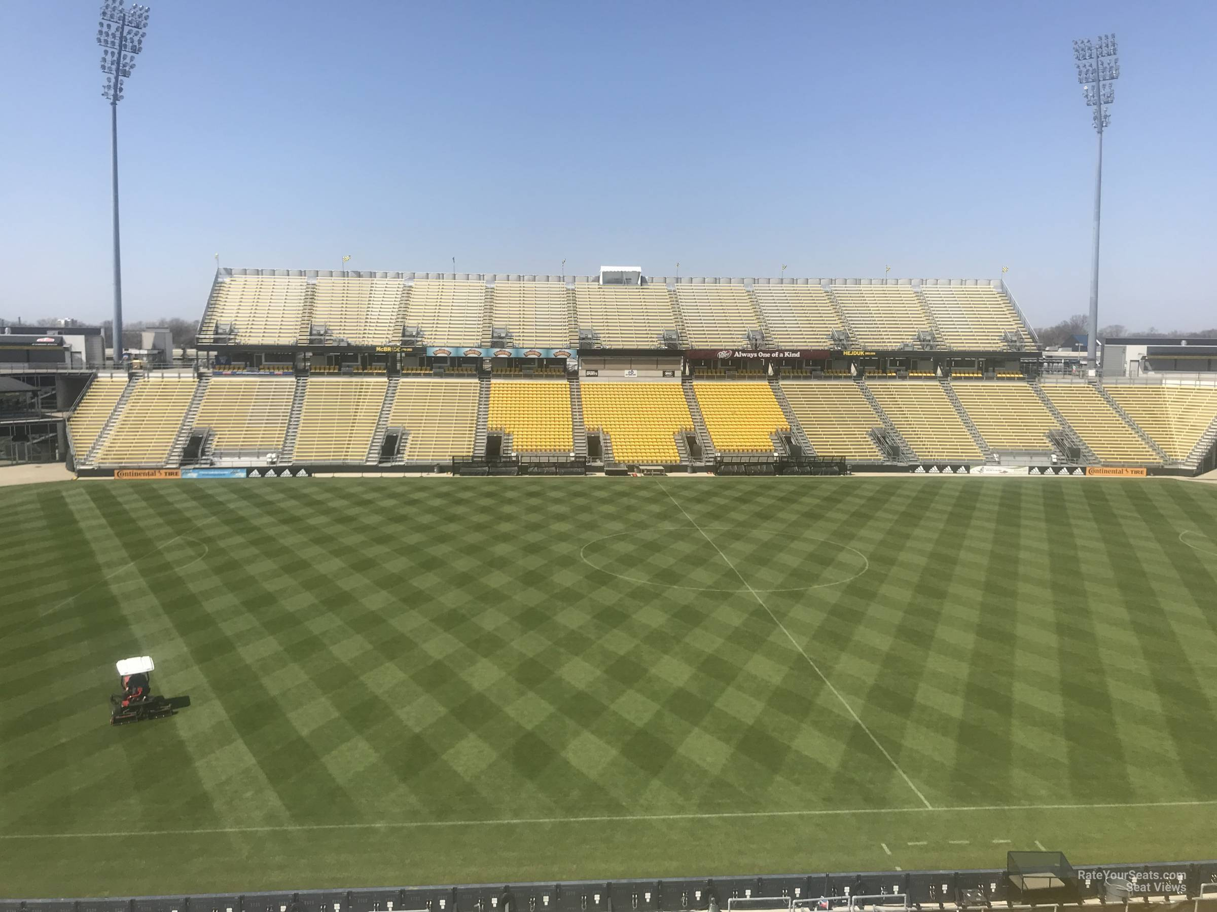 Seat View for Mapfre Stadium Section 207, Row 2