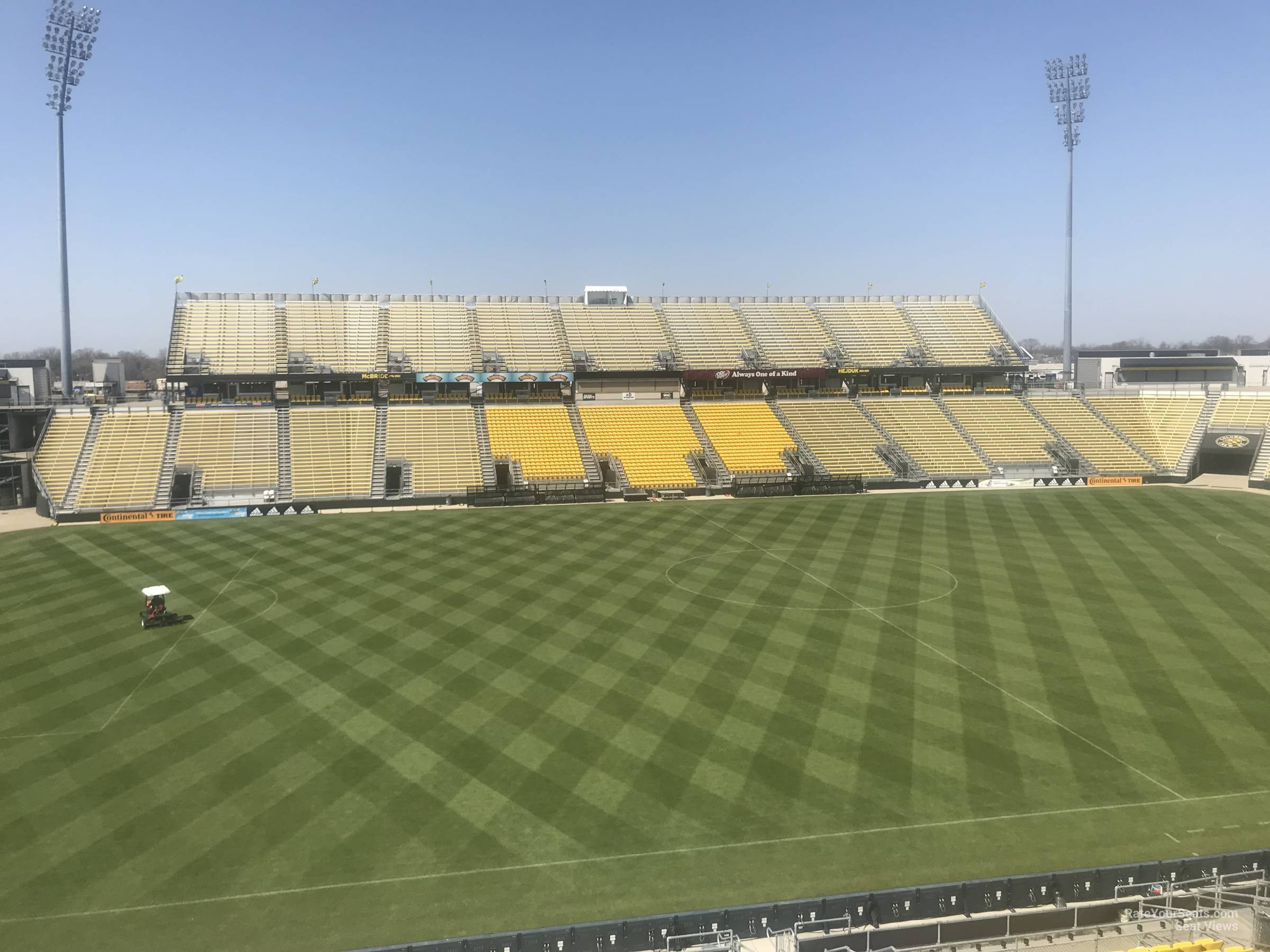 Seat View for Mapfre Stadium Section 208, Row 2
