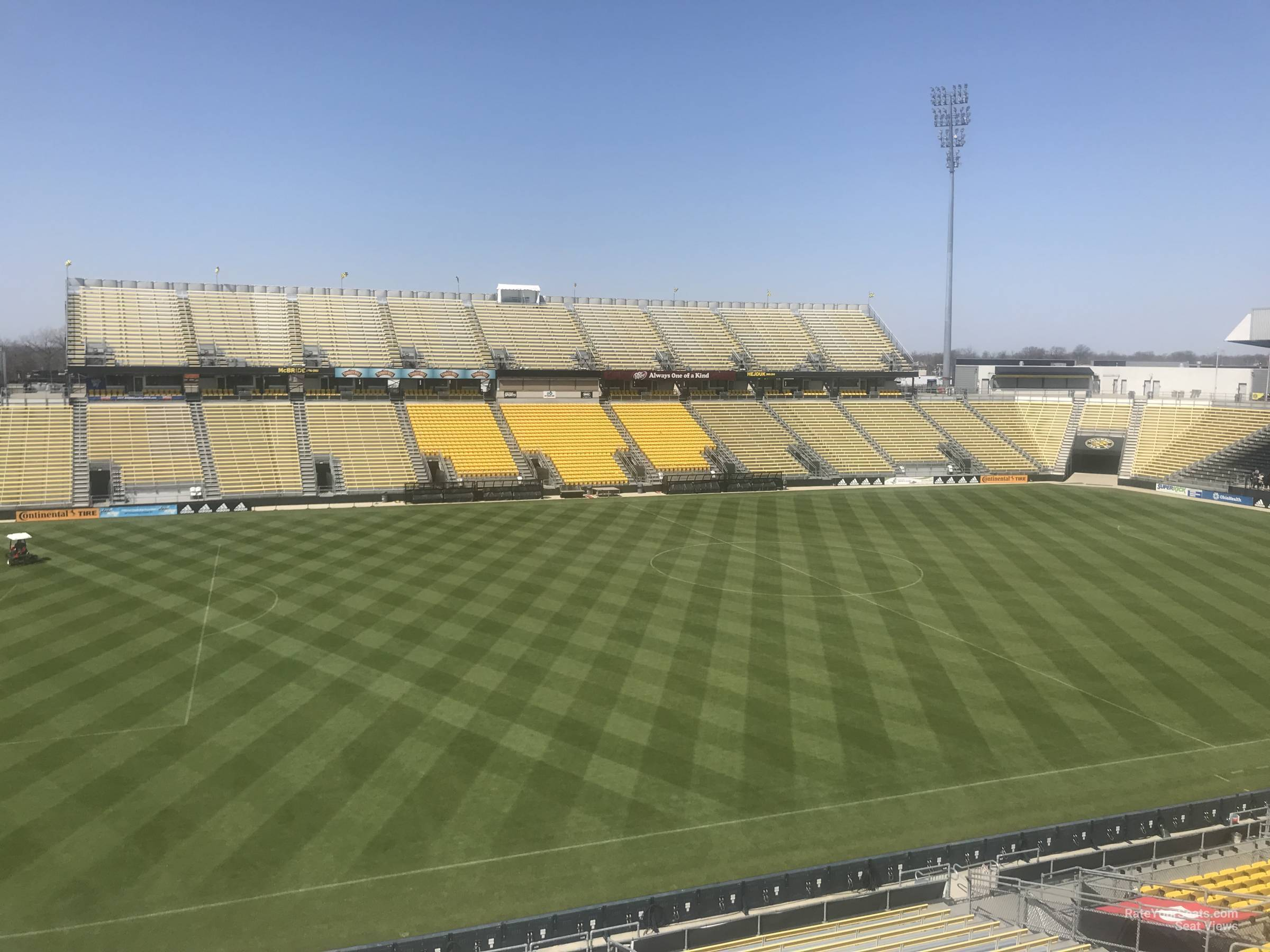 Seat View for MAPFRE Stadium Section 209, Row 2