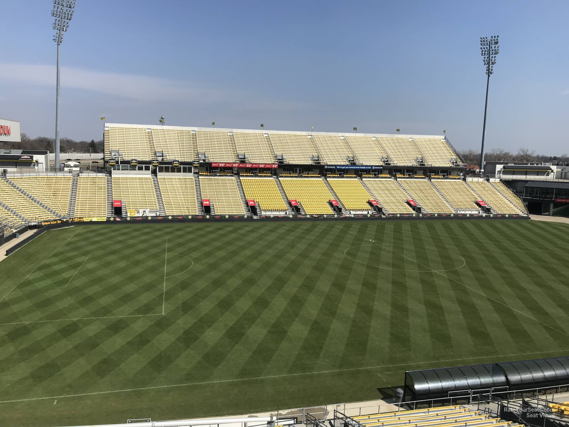 Seat View for MAPFRE Stadium Section 229, Row 11