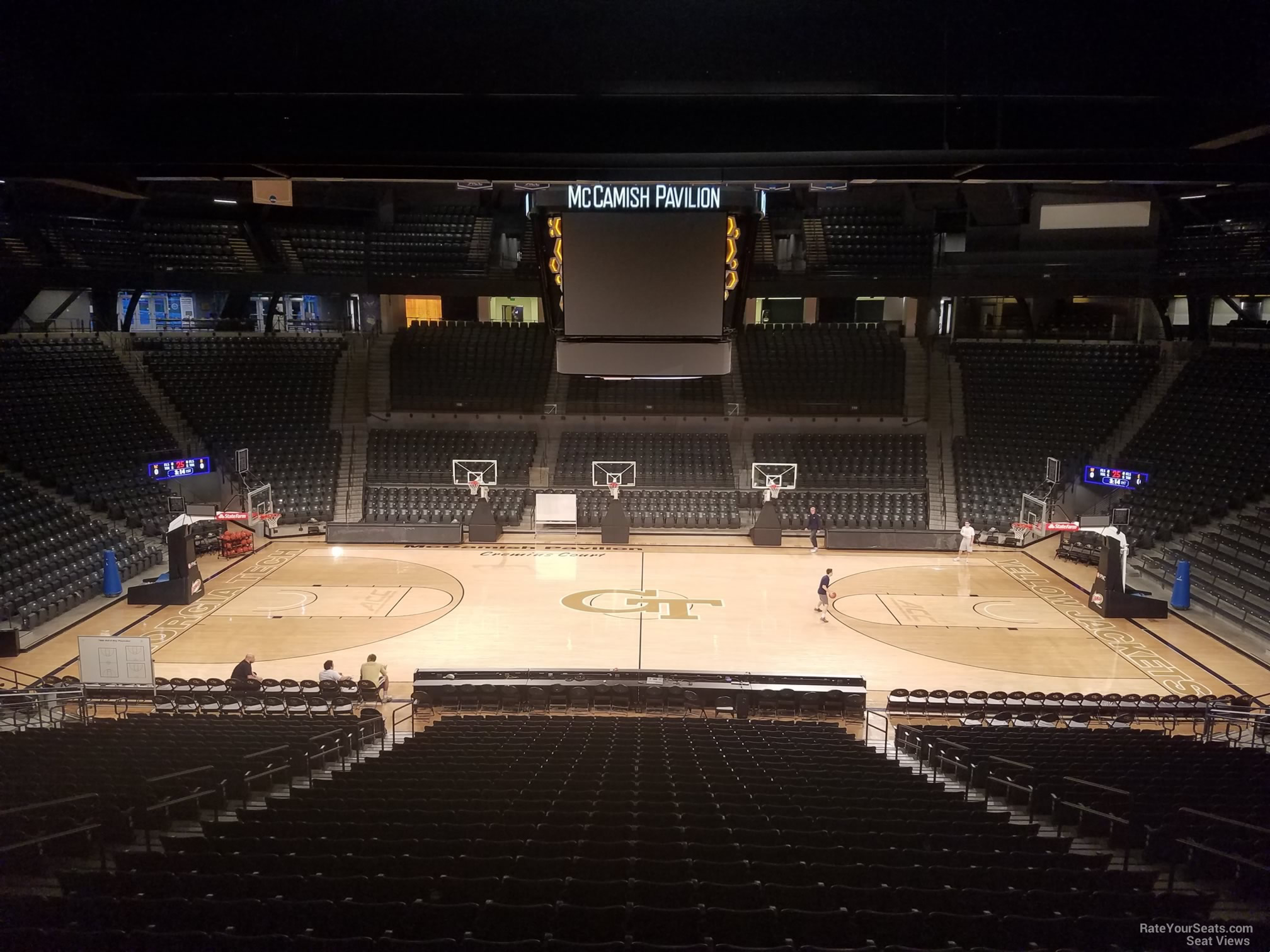 Seat View for McCamish Pavilion Section 101