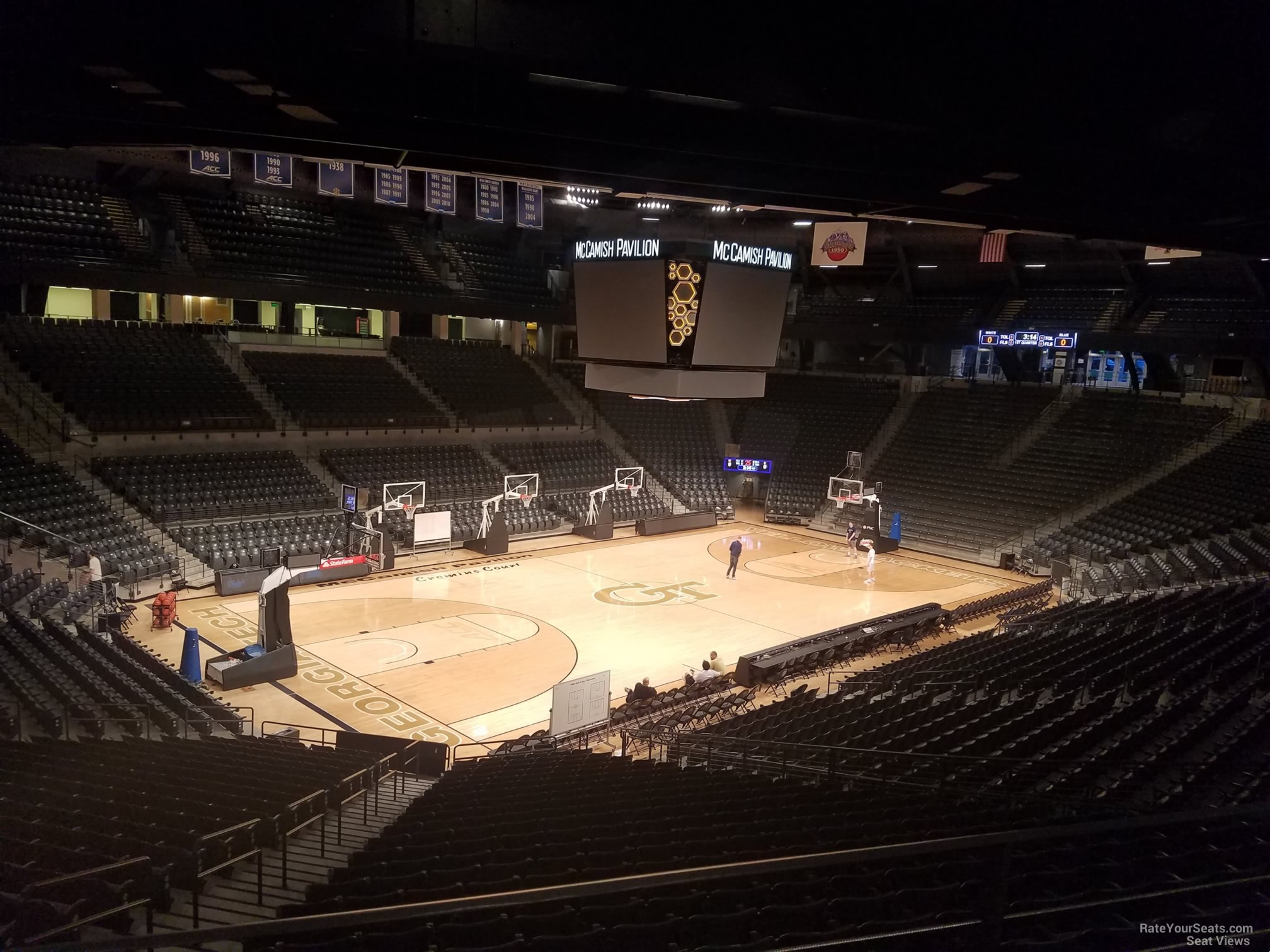 Seat View for McCamish Pavilion Section 103