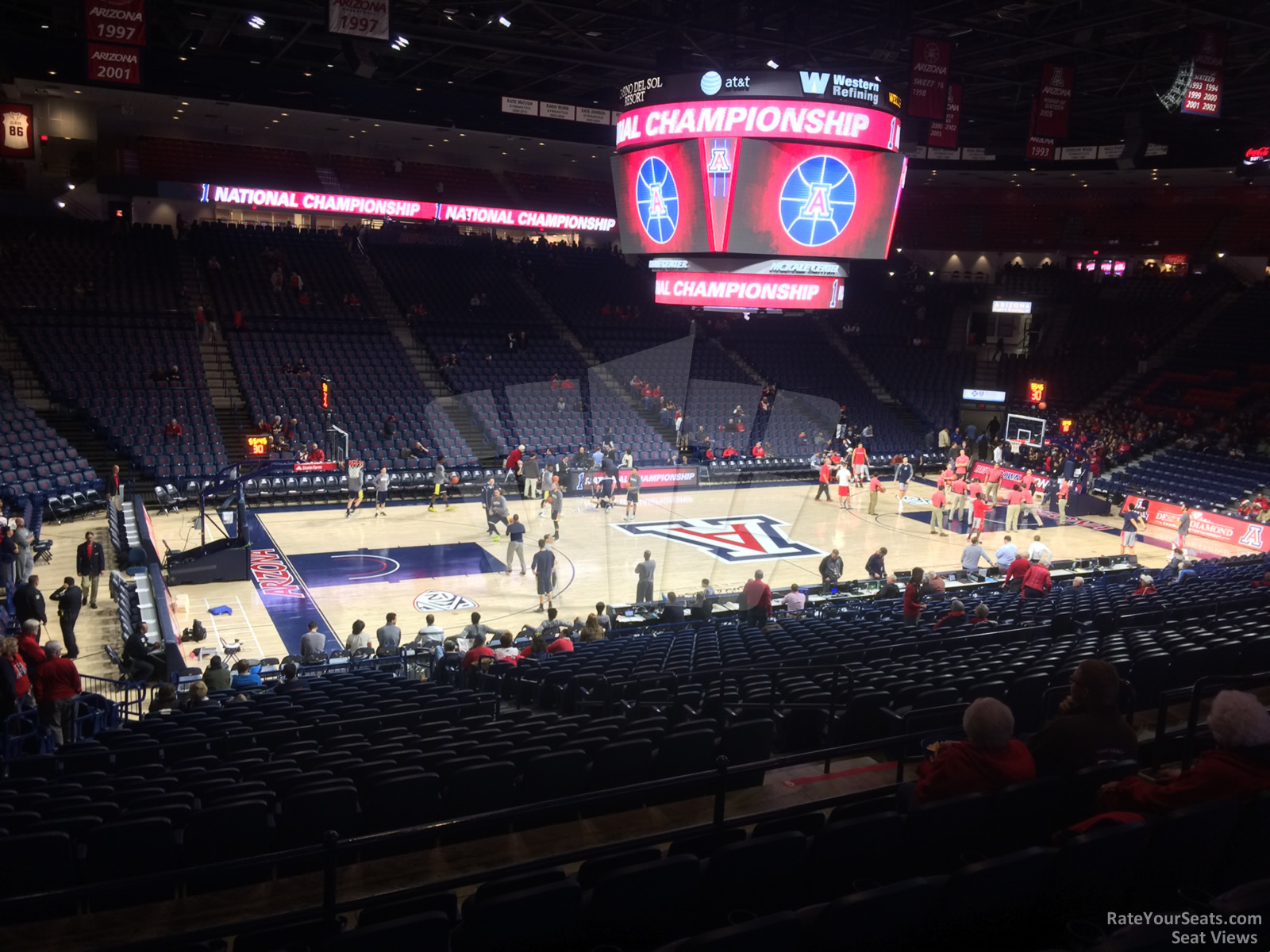 Seat View for McKale Center Section 5, Row 23