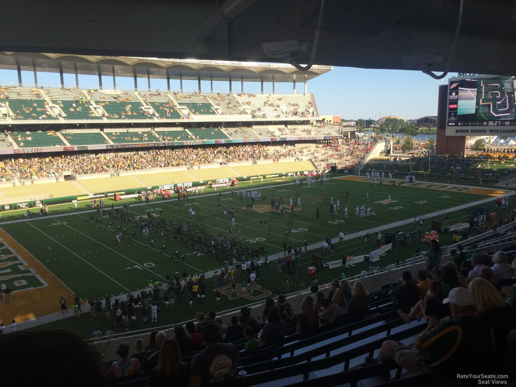 Seat View for McLane Stadium Section 211, Row 12