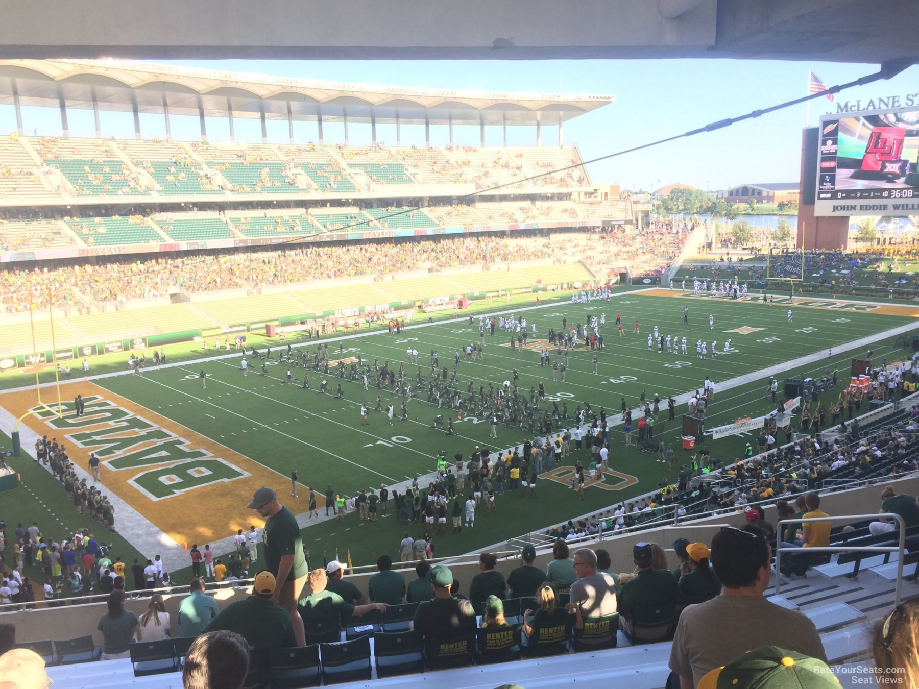 Seat View for McLane Stadium Section 212, Row 12