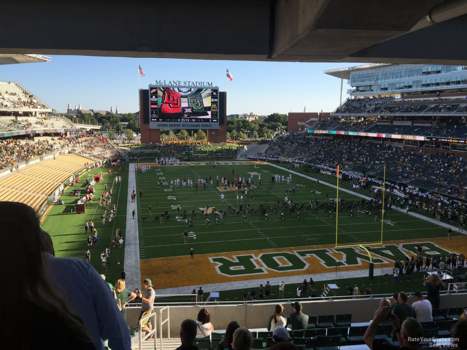 Seat View for McLane Stadium Section 216