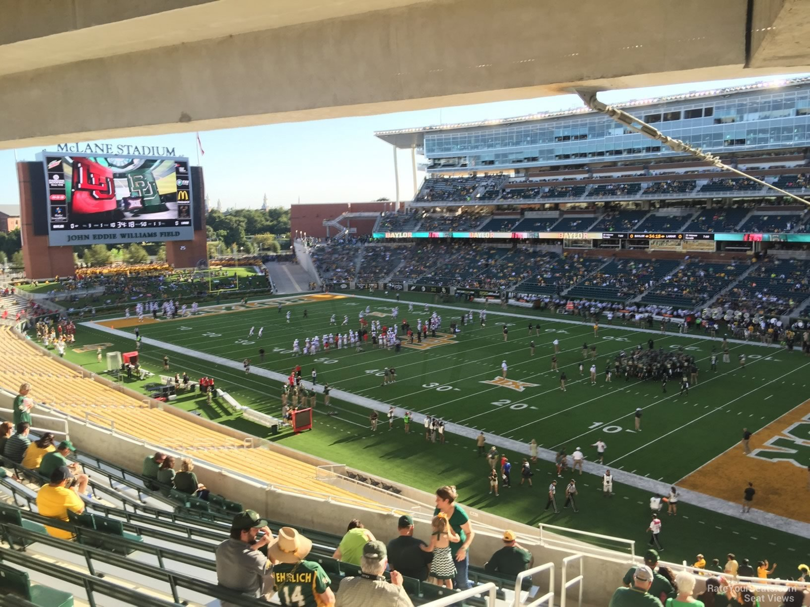 Seat View for McLane Stadium Section 219