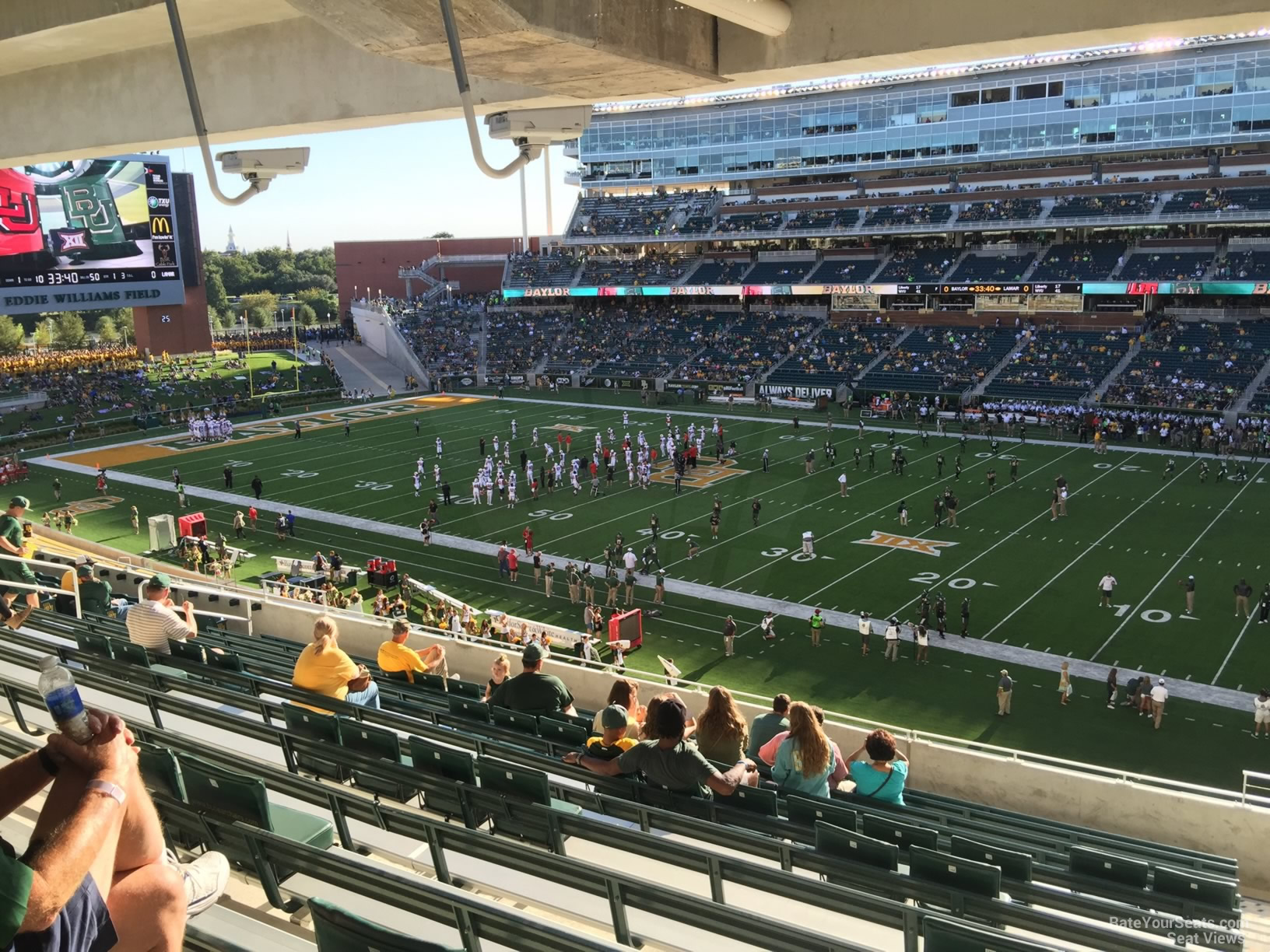 Seat View for McLane Stadium Section 221