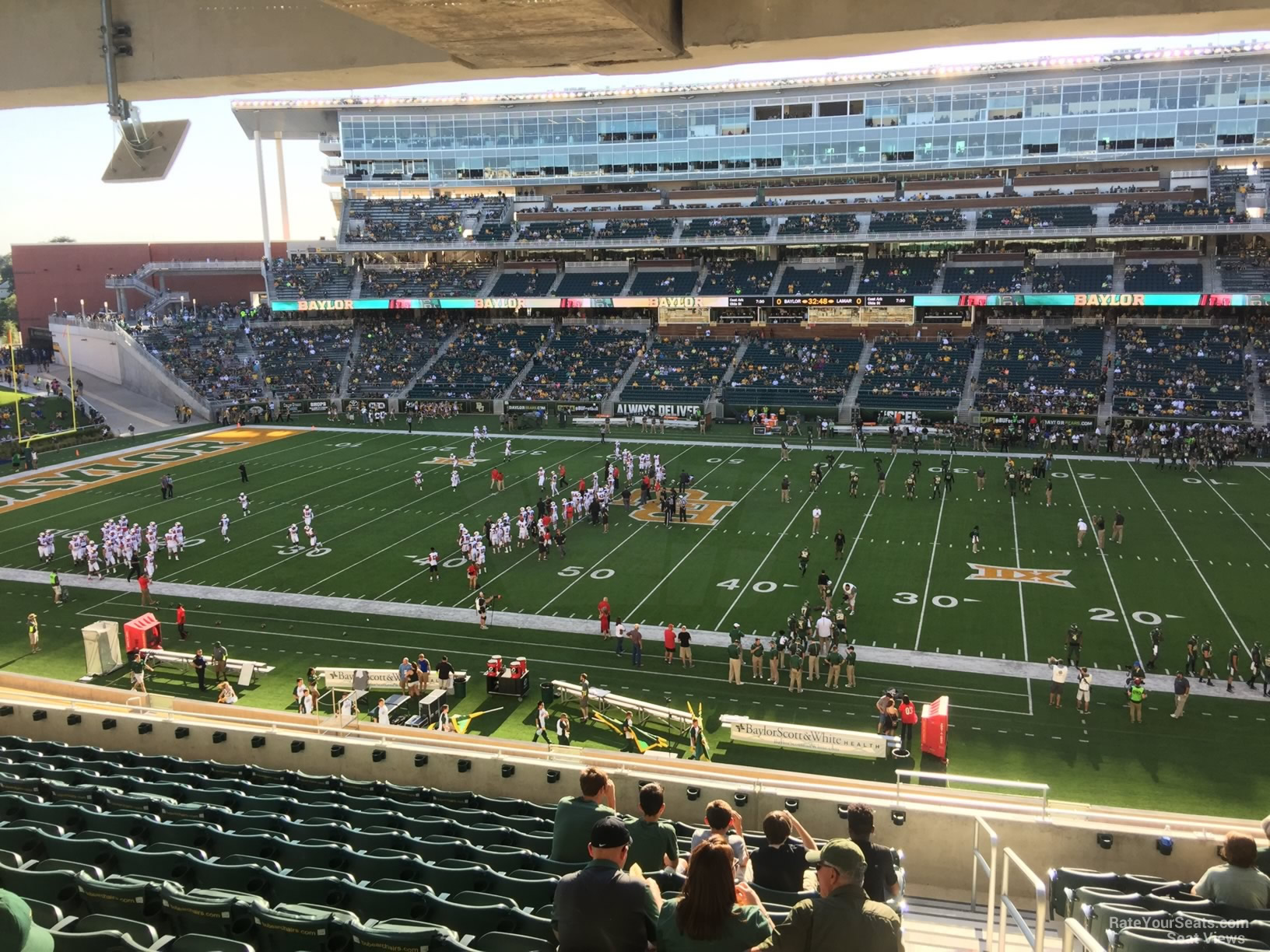 Seat View for McLane Stadium Section 223