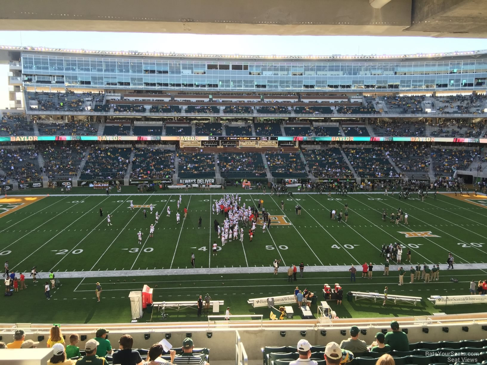 Seat View for McLane Stadium Section 225