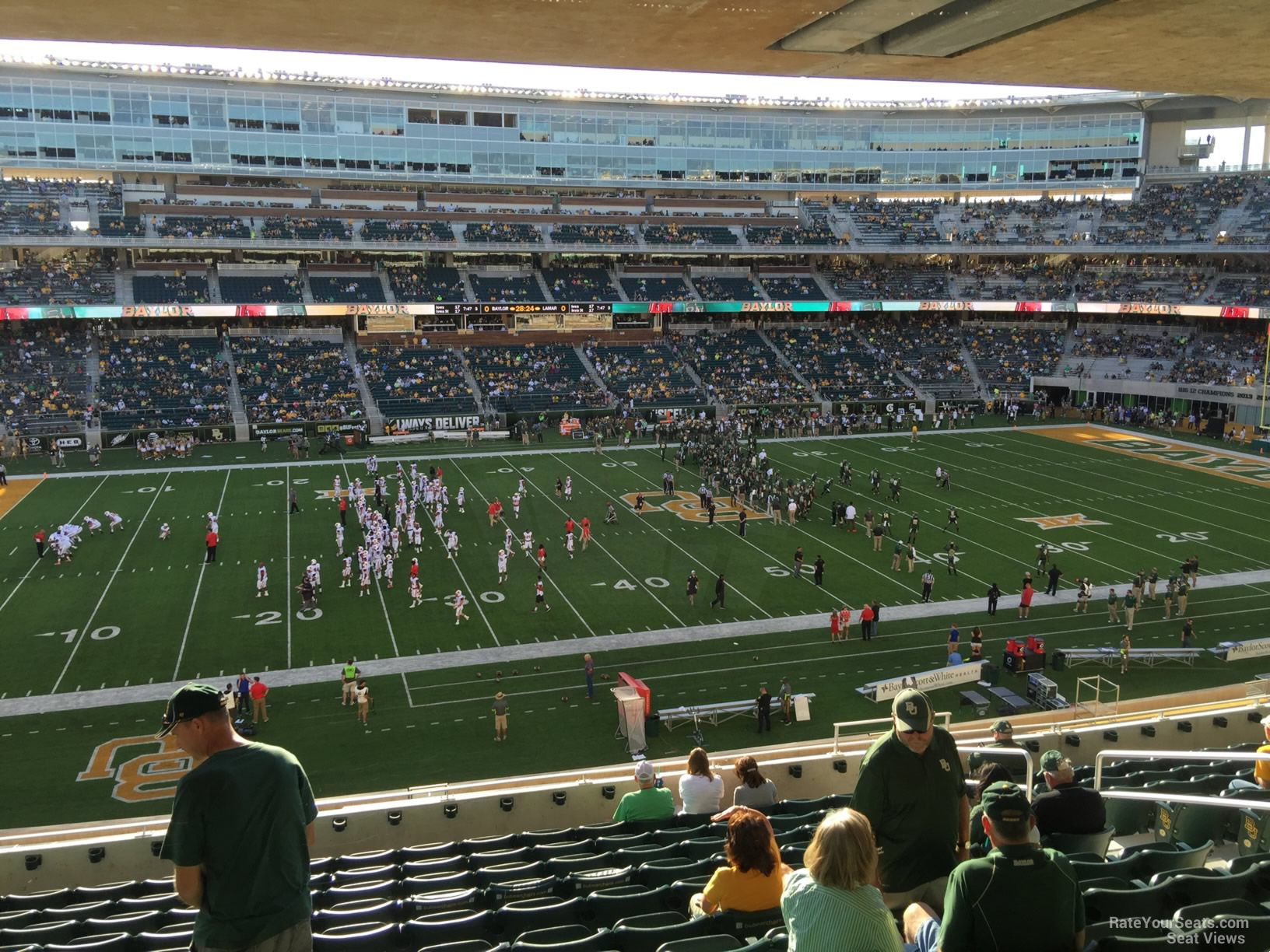 Seat View for McLane Stadium Section 226