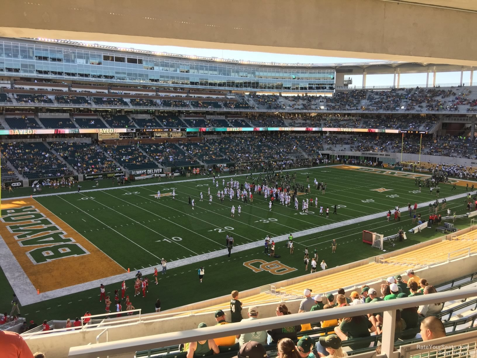 Seat View for McLane Stadium Section 229