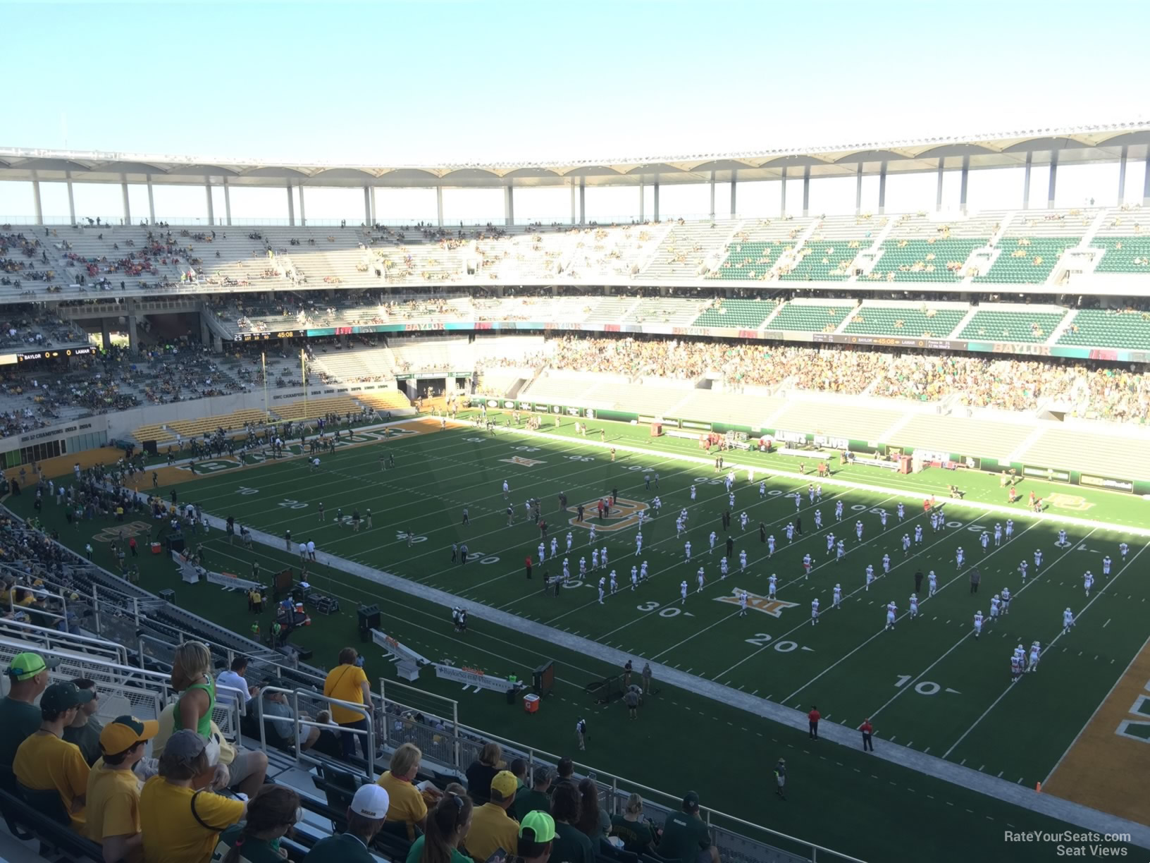 Seat View for McLane Stadium Section 301, Row 20