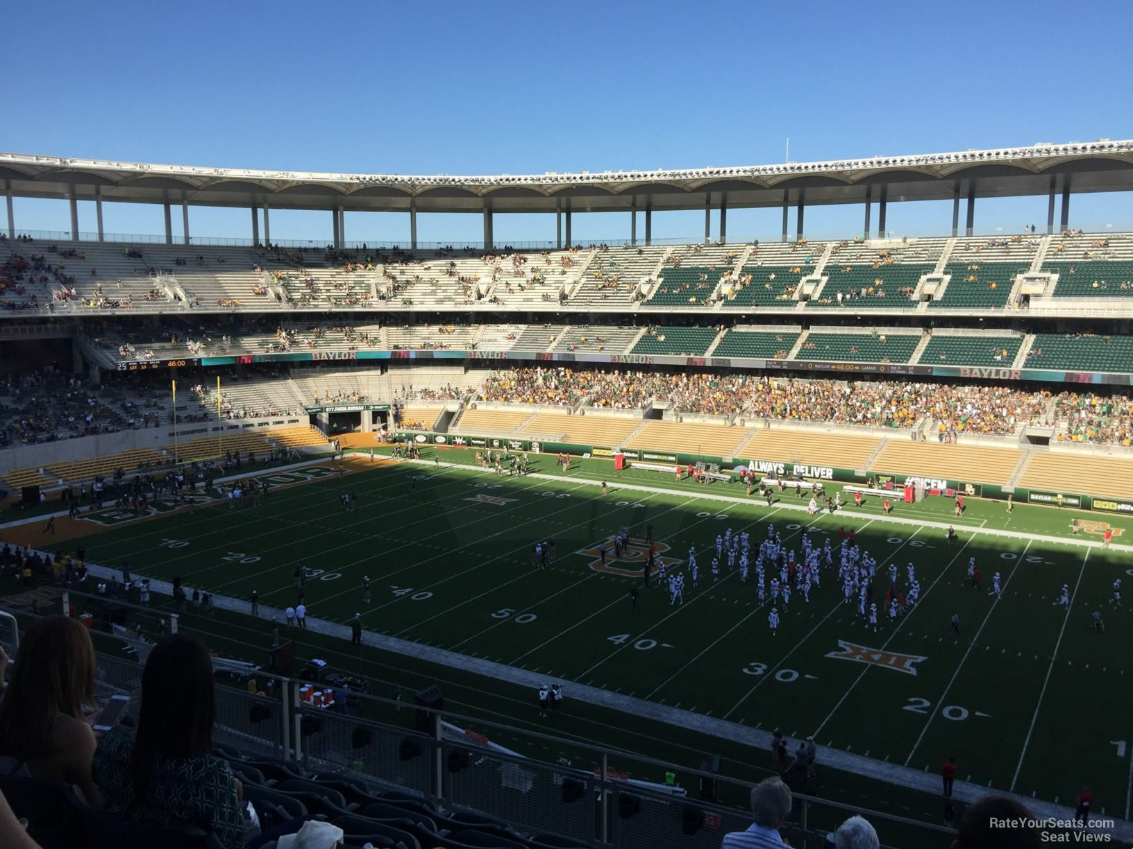 Seat View for McLane Stadium Section 303, Row 6