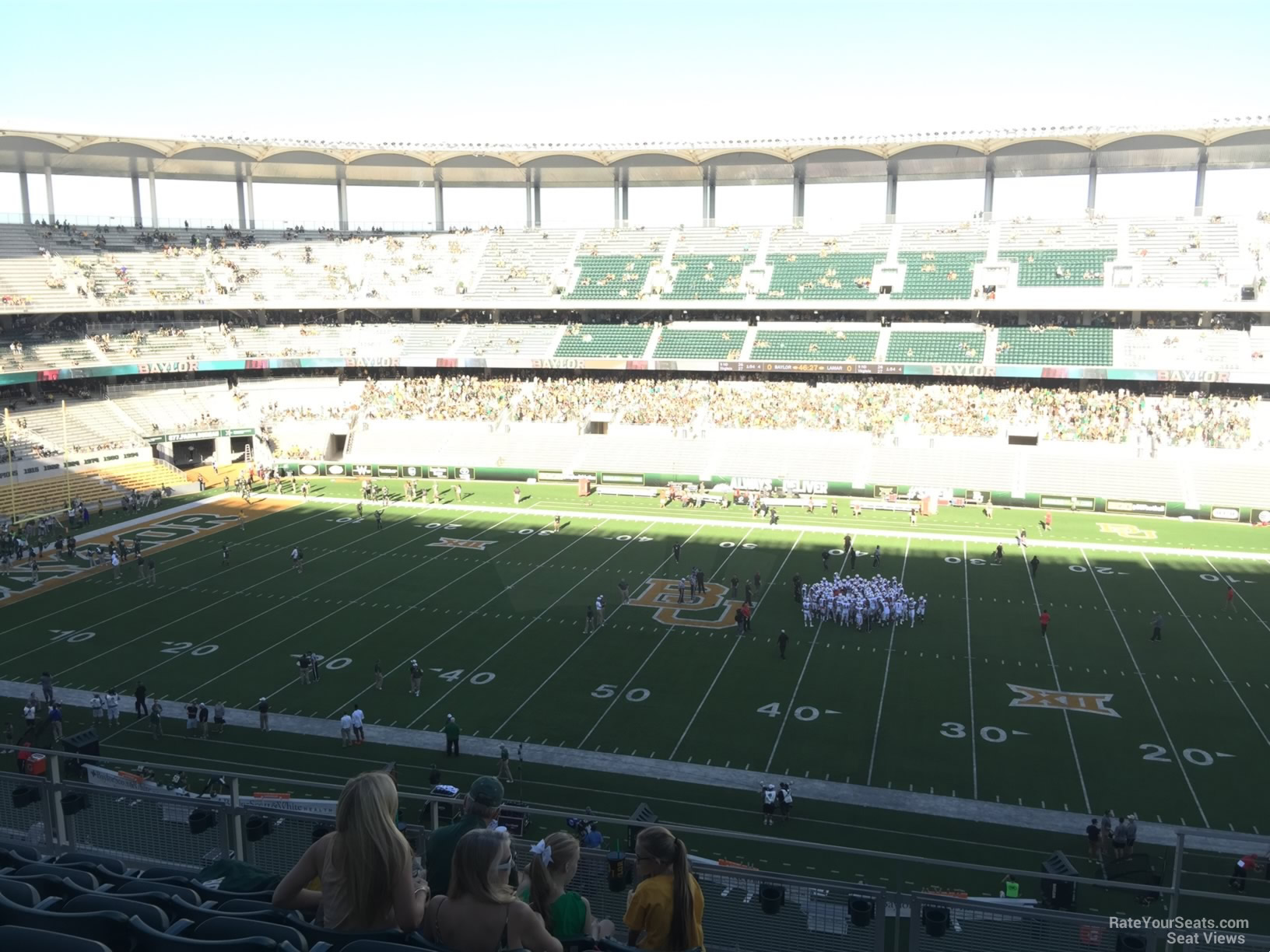 Seat View for McLane Stadium Section 305, Row 6