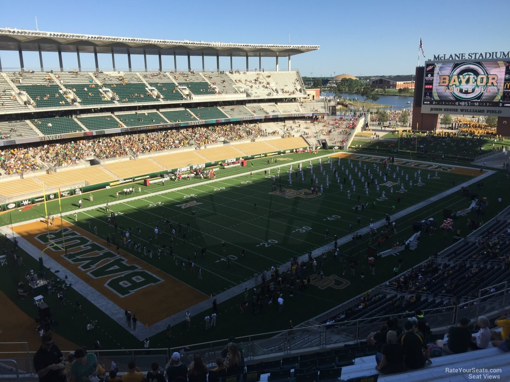 Seat View for McLane Stadium Section 311, Row 20