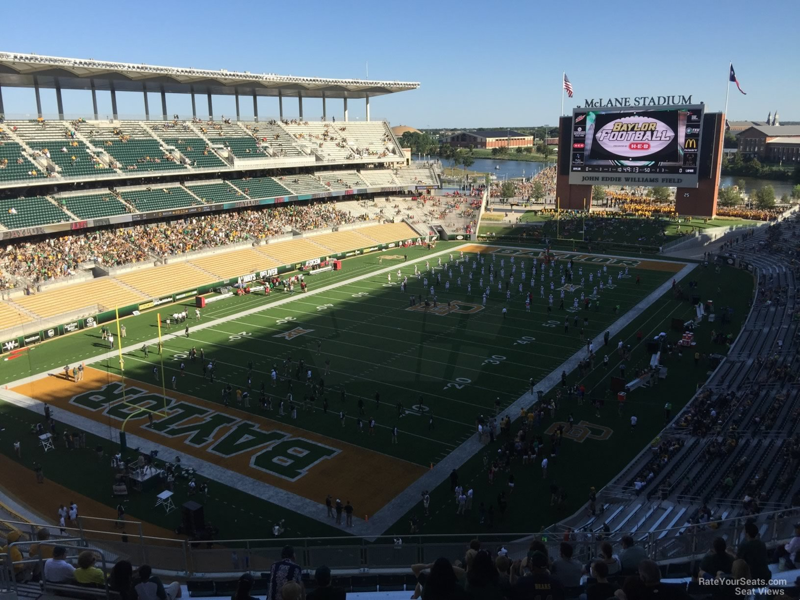 Seat View for McLane Stadium Section 312, Row 20