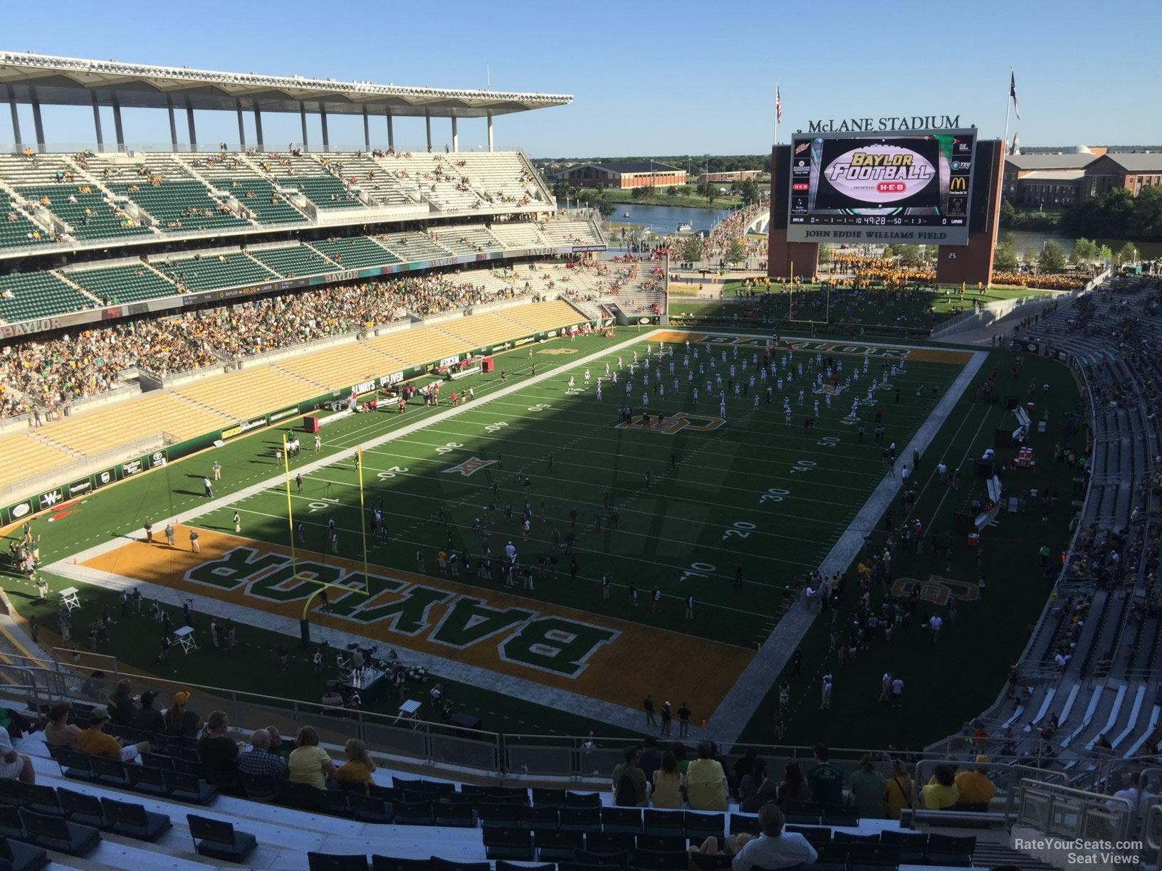 Seat View for McLane Stadium Section 313, Row 20