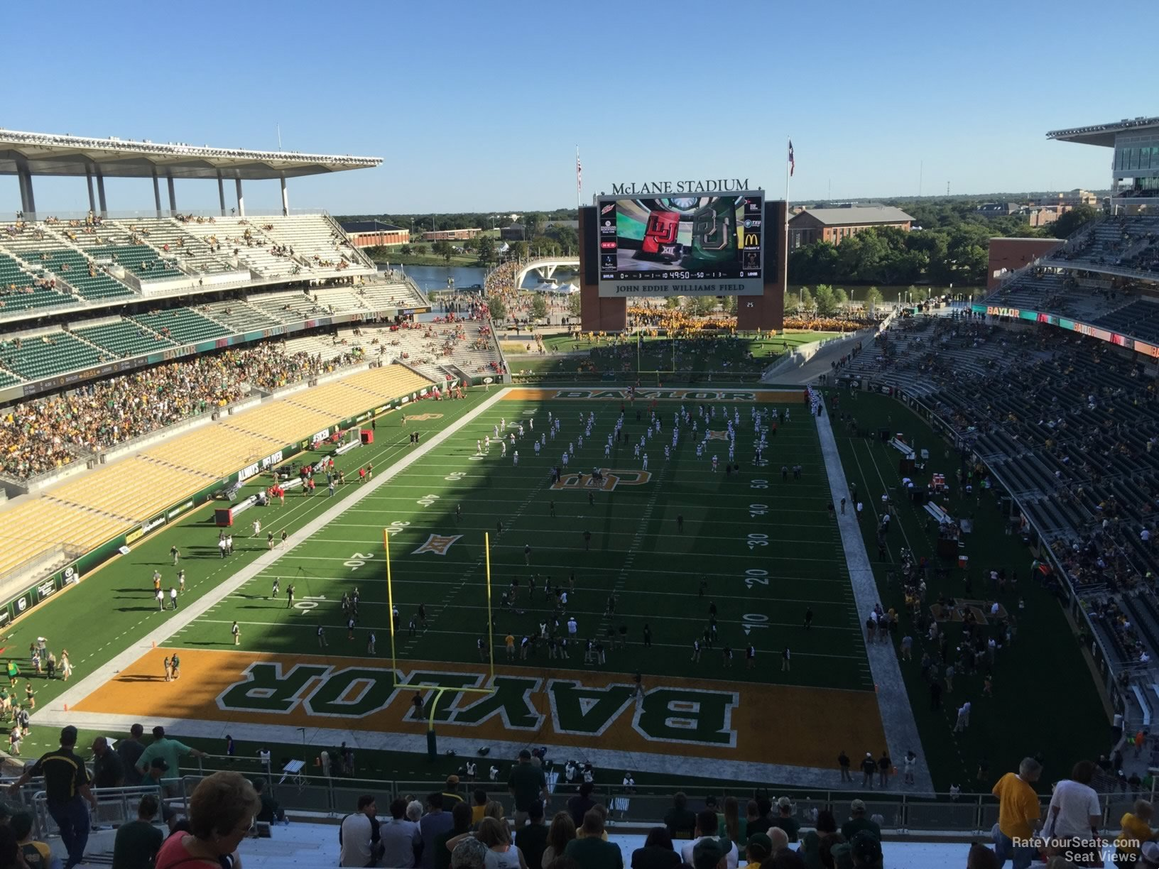 Seat View for McLane Stadium Section 314, Row 20