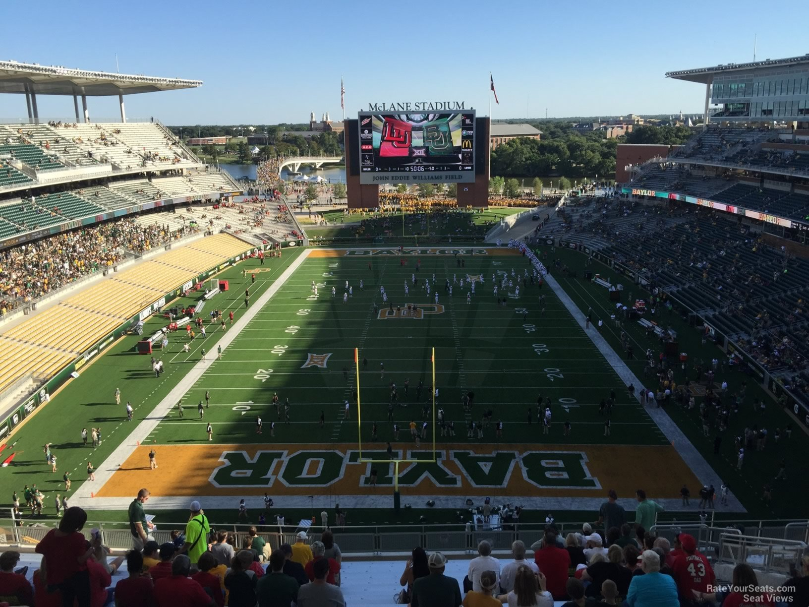 Seat View for McLane Stadium Section 315, Row 20