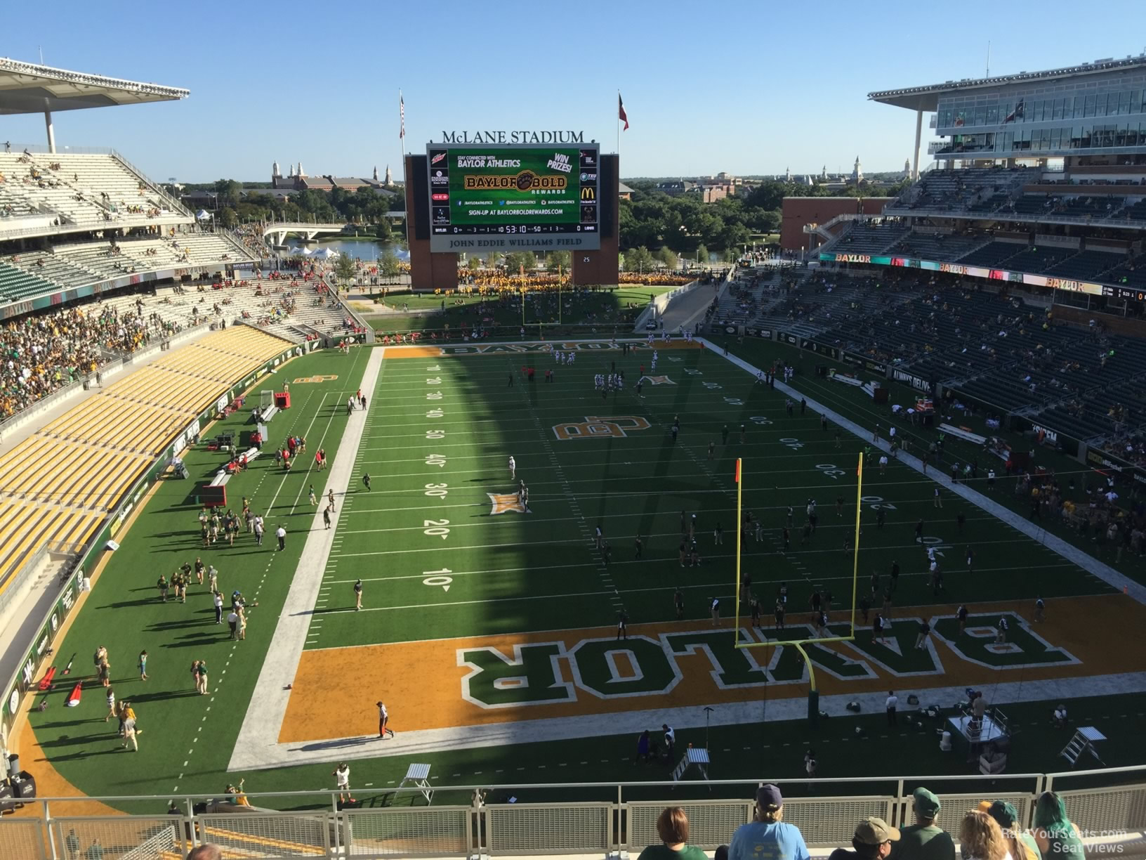 Seat View for McLane Stadium Section 316, Row 10