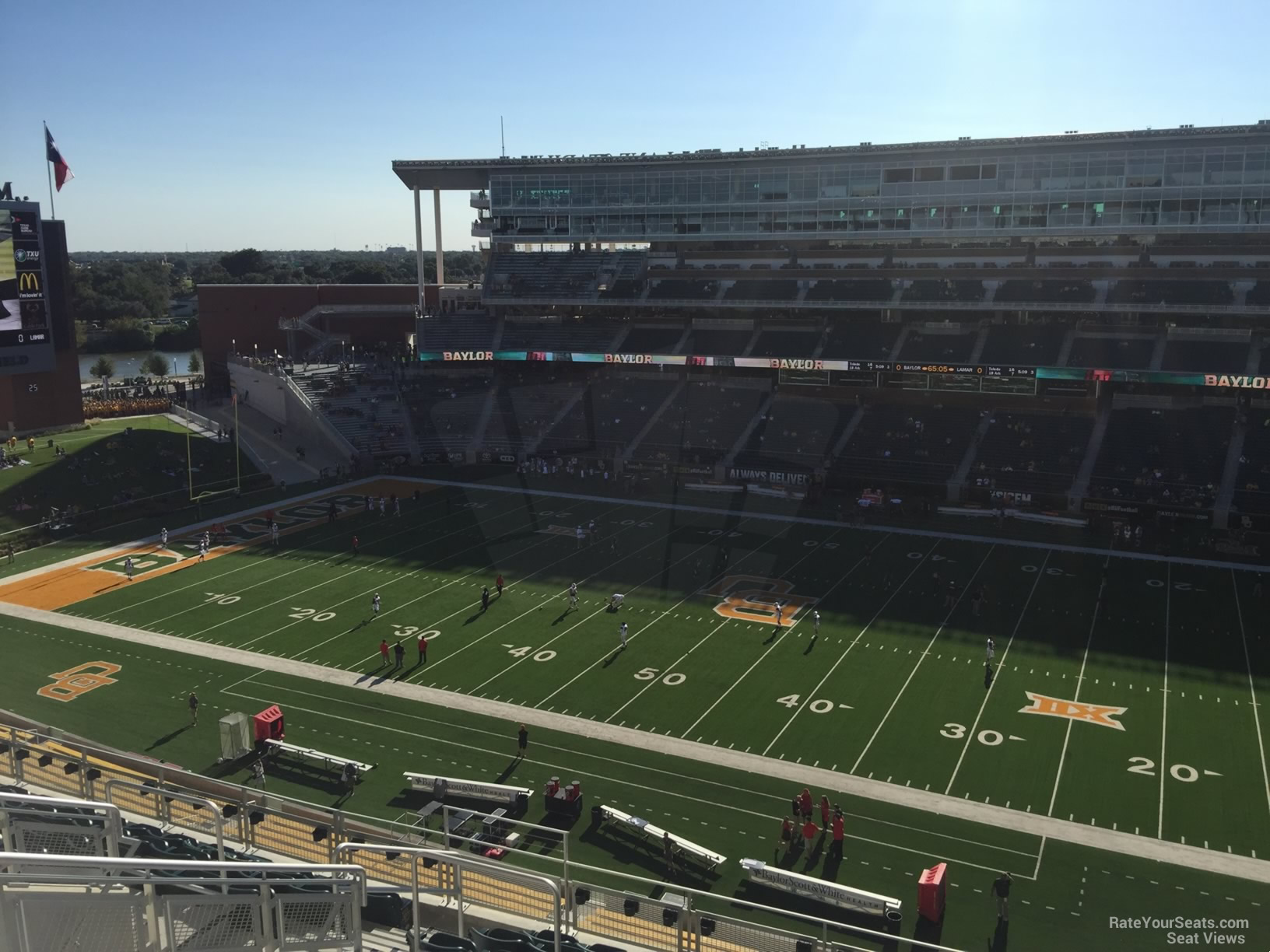 Seat View for McLane Stadium Section 322, Row 10